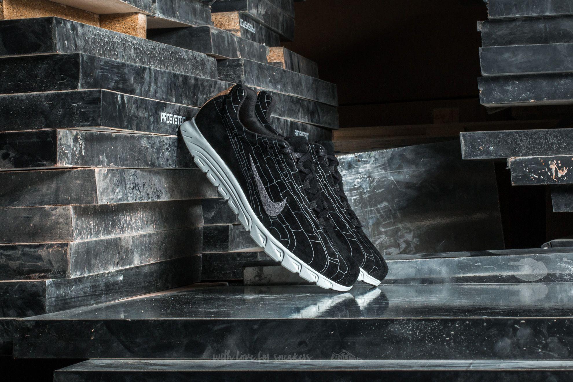 Nike Mayfly Leather Premium Black/ Black-Dark Grey-Linen