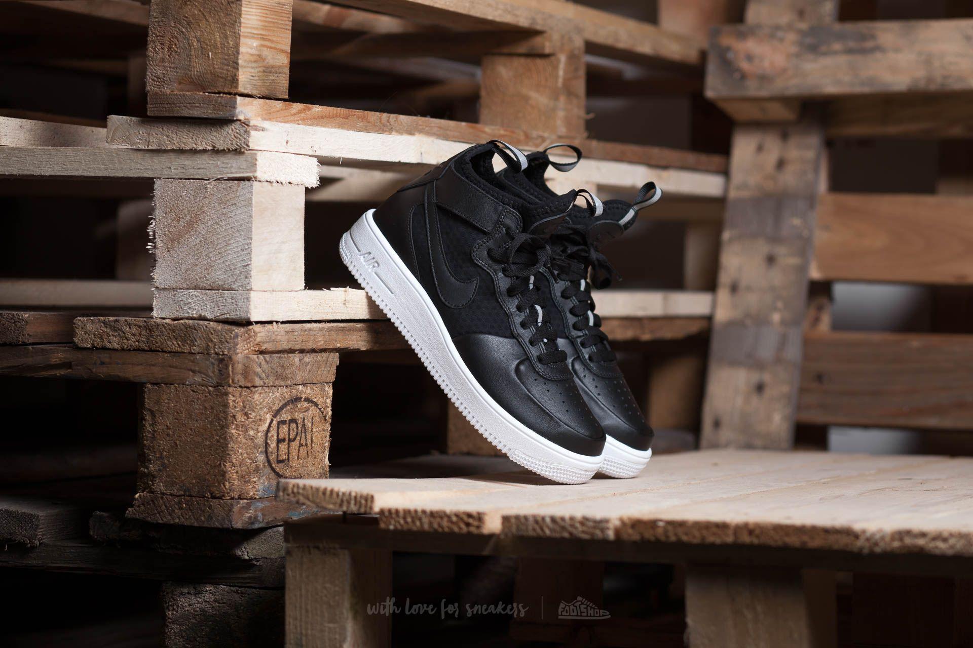 Nike W Air Force 1 Ultraforce MID Light Bone/ Light Bone-White