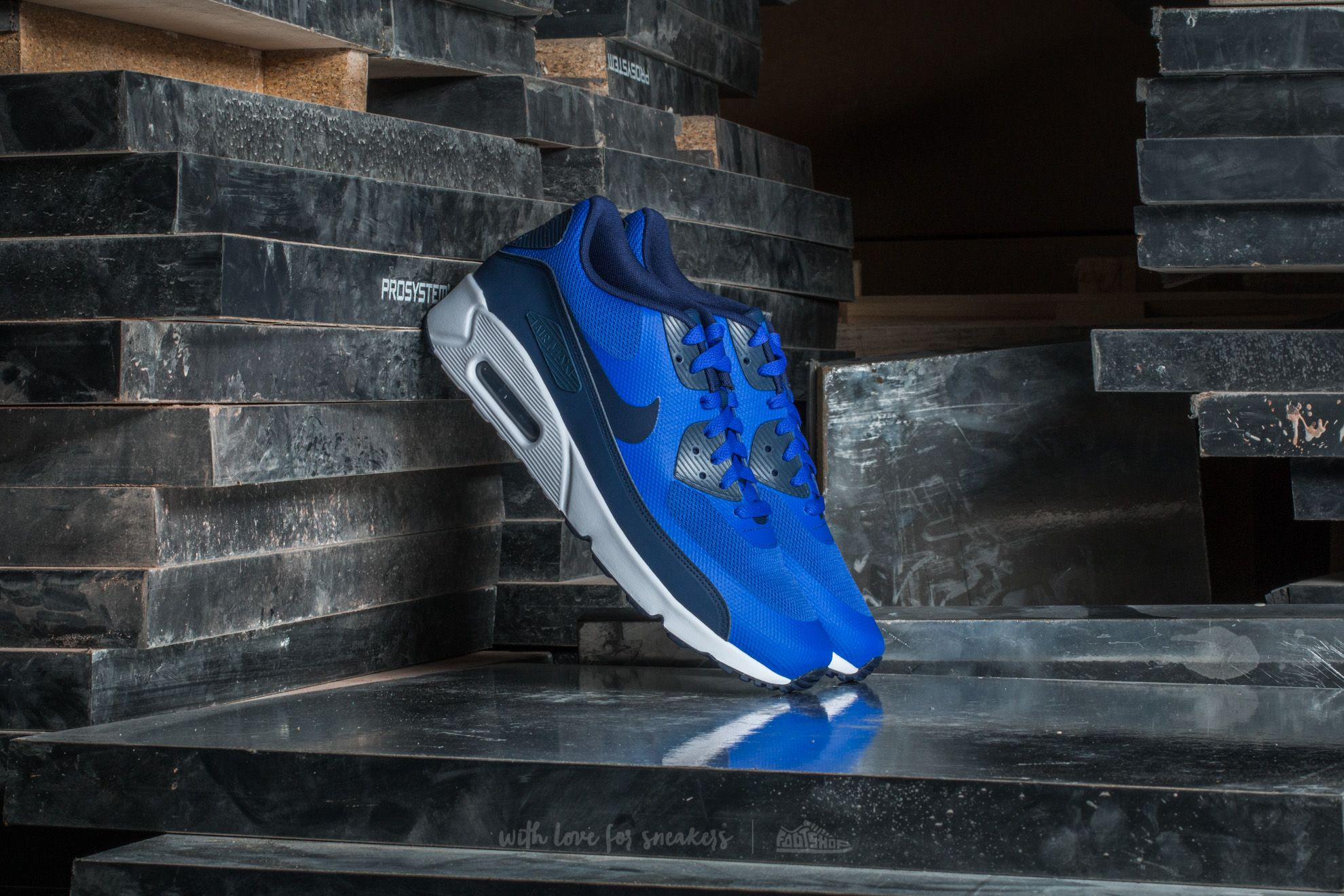 Nike Air Max 90 Ultra 2.0 Essential Paramount Blue/ Binary Blue