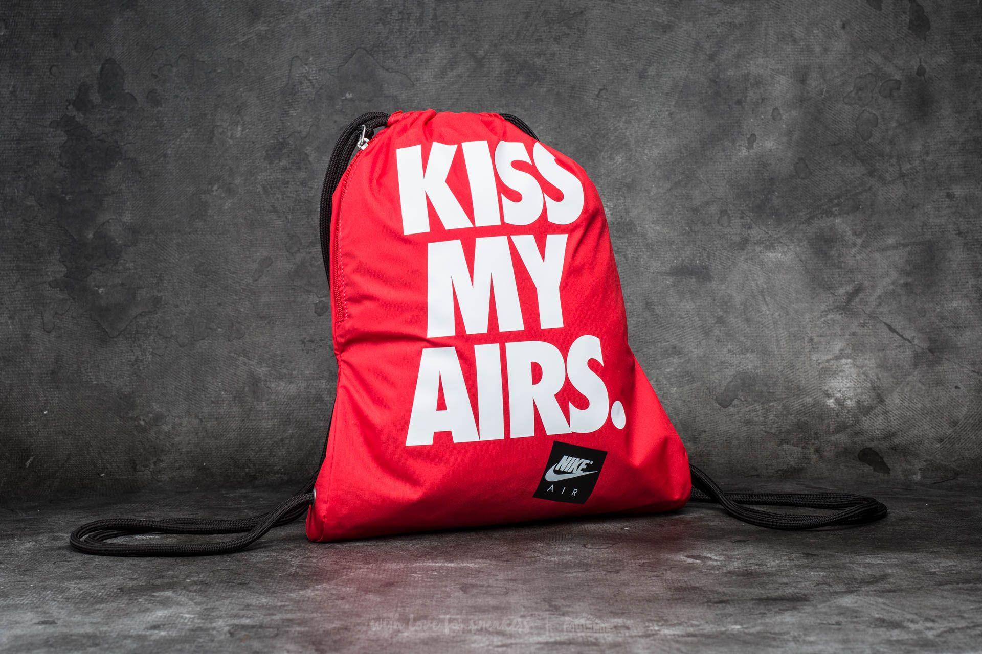 Nike Sportswear Heritage Gymsack Red/ White/ Black