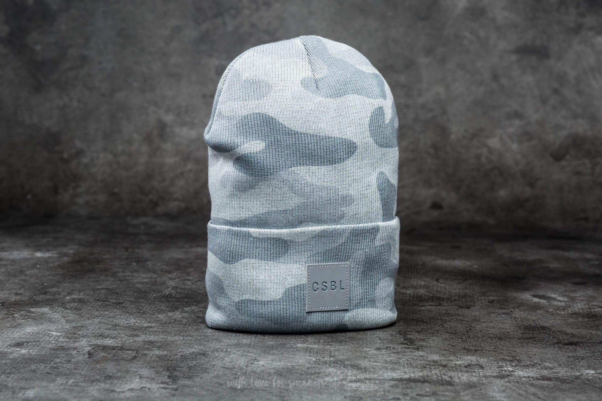Cayler & Sons CSBL Millennivm Beanie Stone Camo/ Reflective Grey