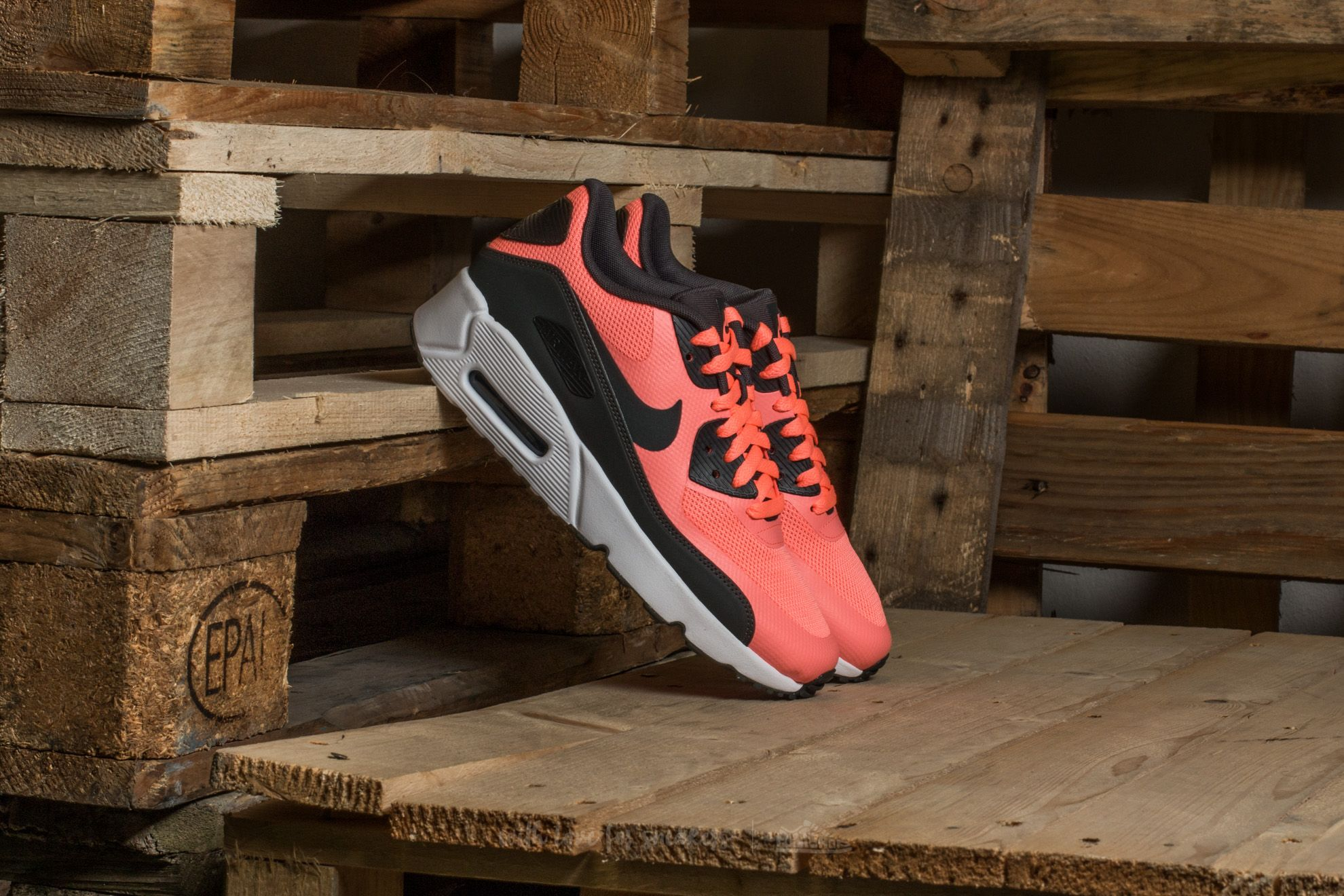 Nike Air Max 90 Ultra 2.0 (GS) Lava Glow/ Anthracite-White