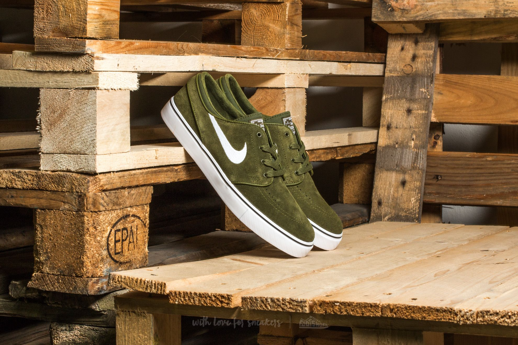 Nike Zoom Stefan Janoski Legion Green/ White-Black Footshop – FR