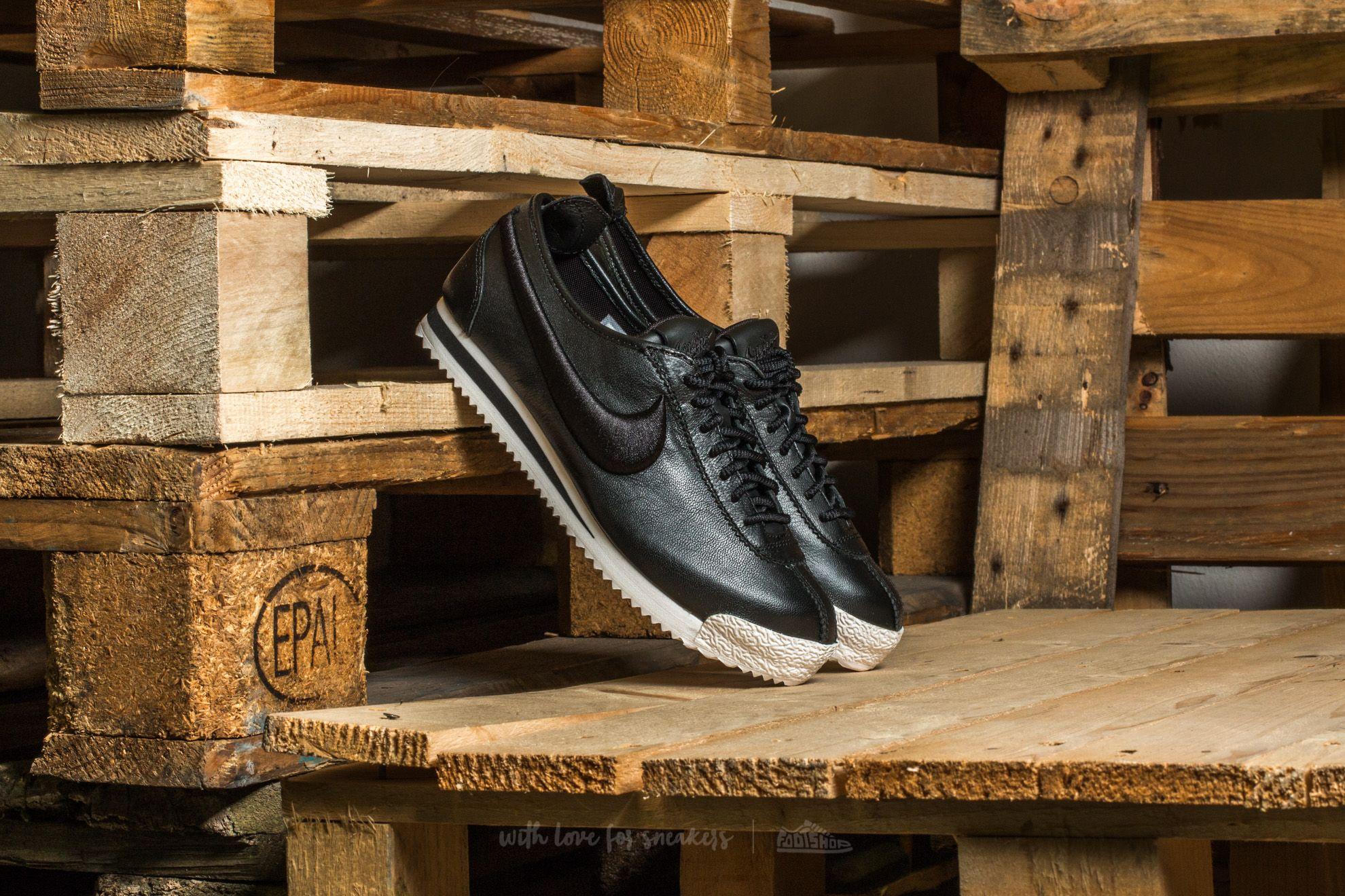 Nike Wmns Cortez '72 SI Black/ Black-Ivory