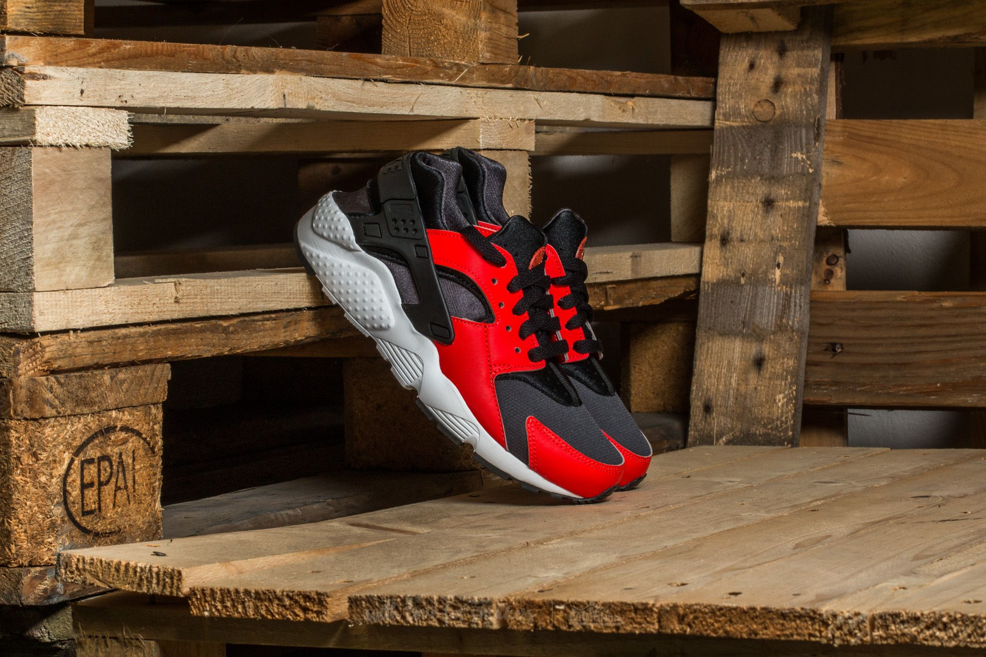 Nike Huarache Run (GS) Max Orange/ Black-Black Footshop – FR
