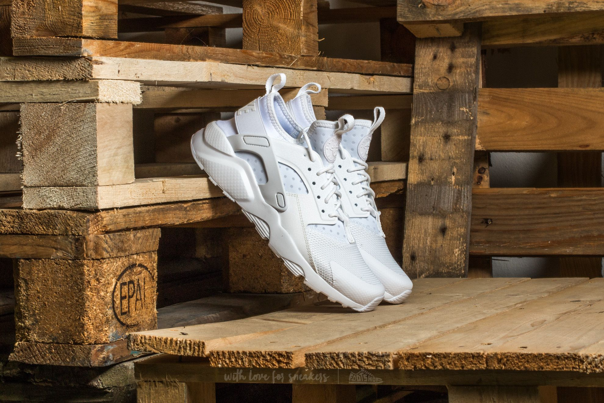 Nike Air Huarache Run Ultra (GS) White/ White-White Footshop – FR