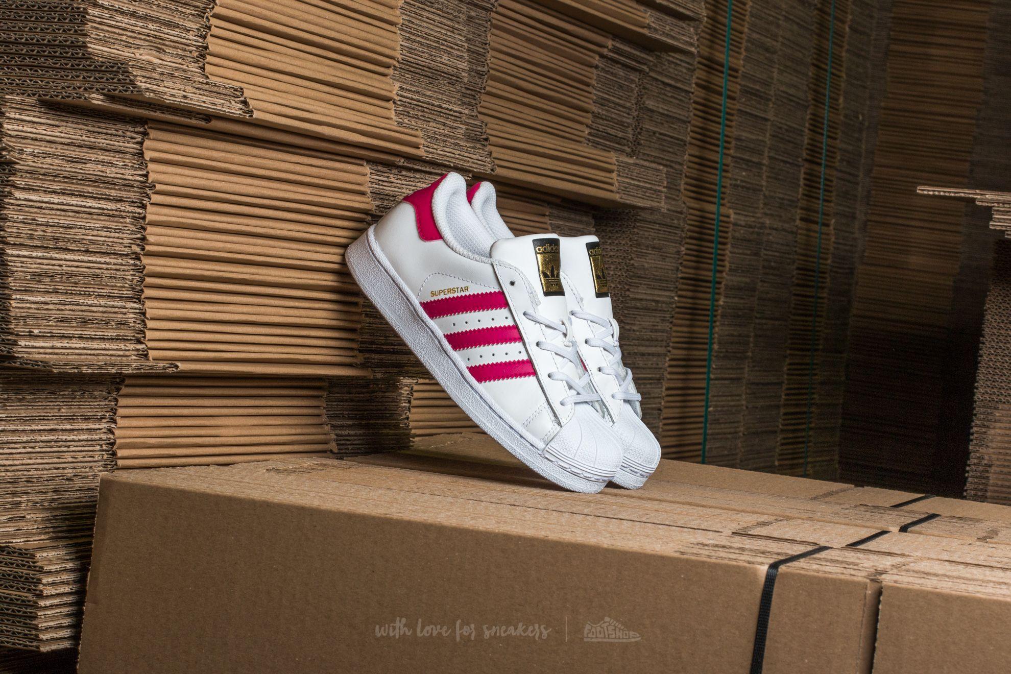 adidas Superstar I FtwWhite/ BoPink/ FtwWhite Footshop – FR
