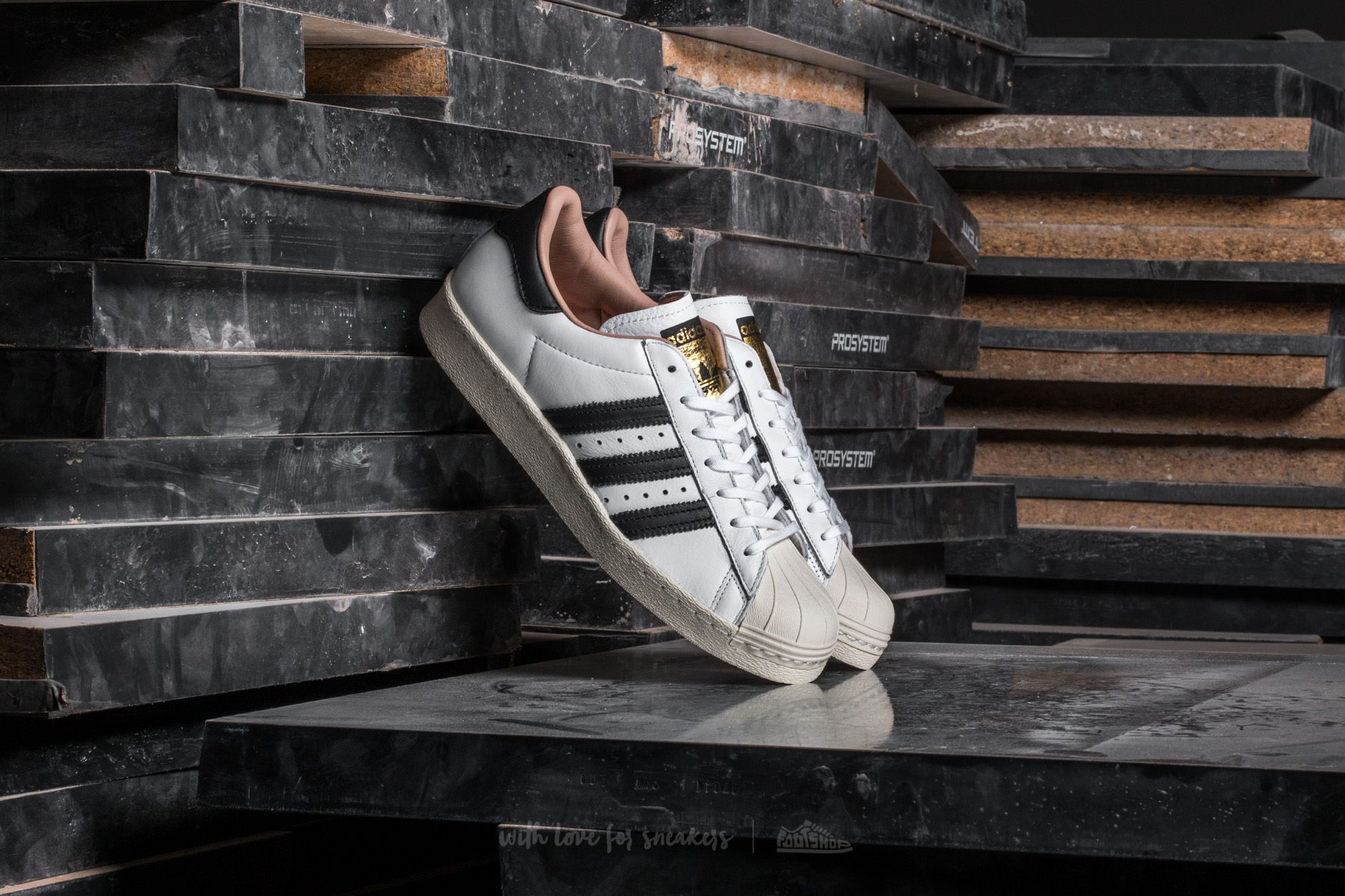 adidas Superstar 80s W Ftw White/ Core Black/ Off White
