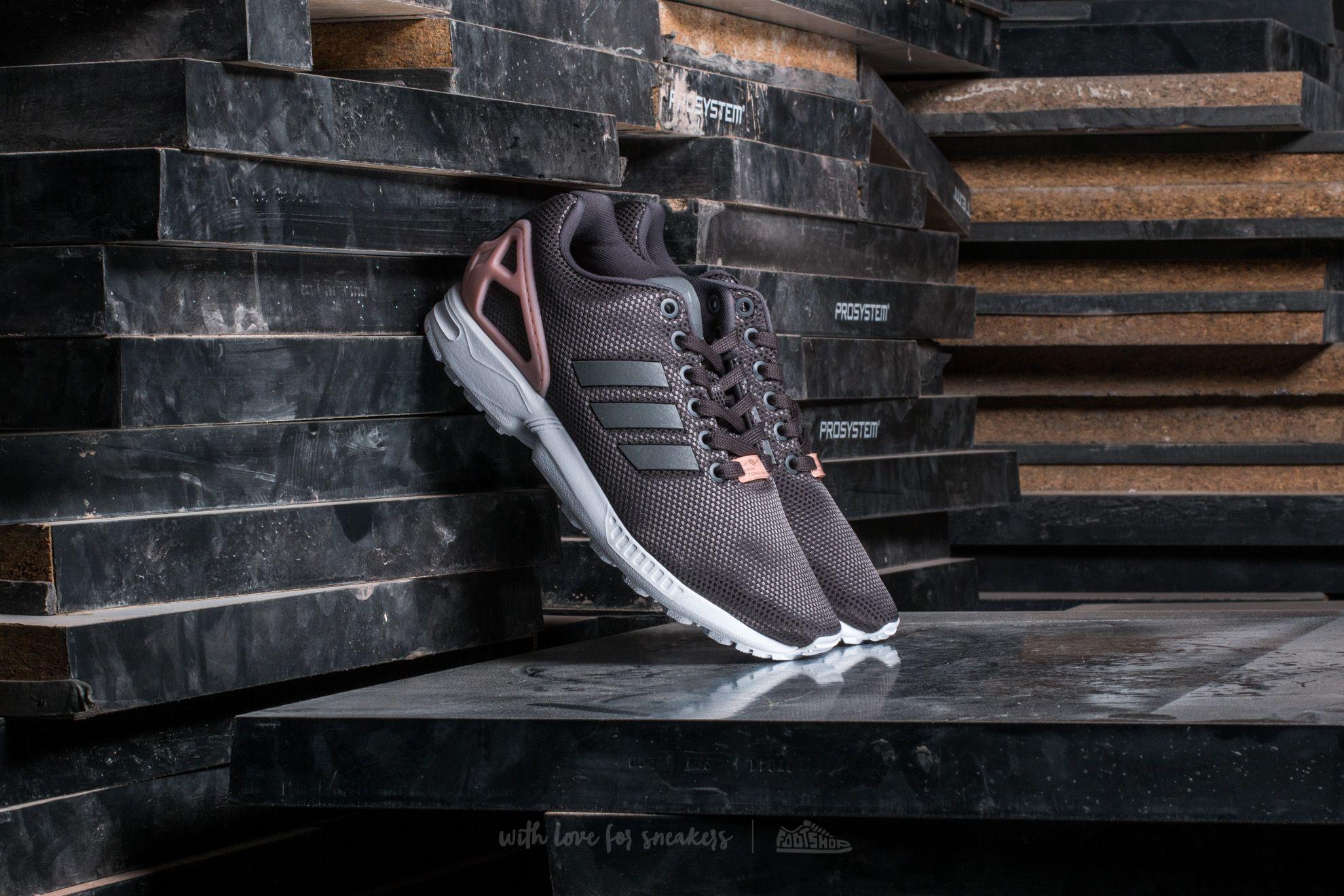 adidas ZX Flux W Granit/ SilverMT/ CoreBlack Footshop – FR