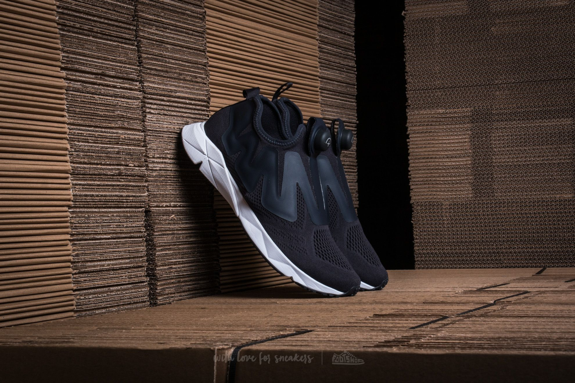 Reebok Pump Supreme Engine Lead/ White