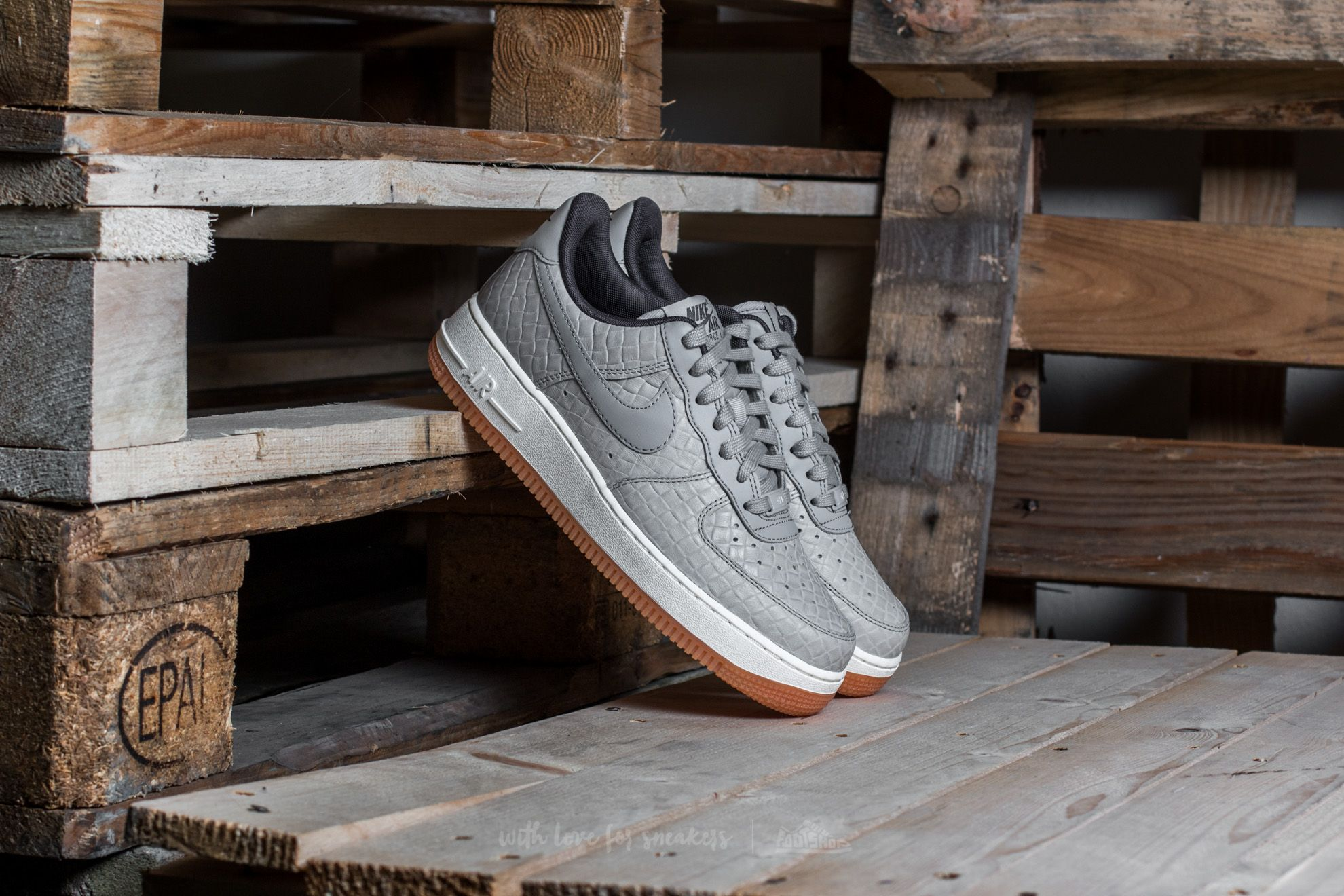 Nike Wmns Air Force 1 '07 Premium Wolf Grey/ Wolf Grey Footshop – FR