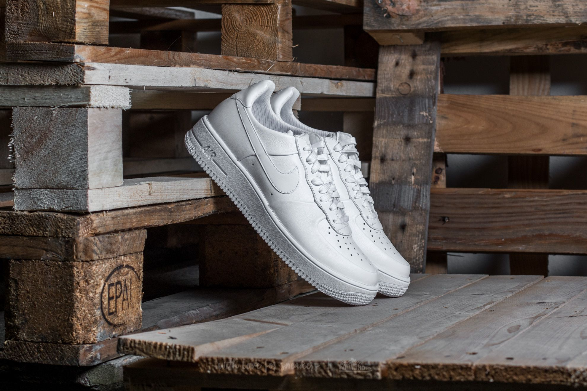 Nike Air Force 1 Ultraforce Leather White/ White-White Footshop – FR