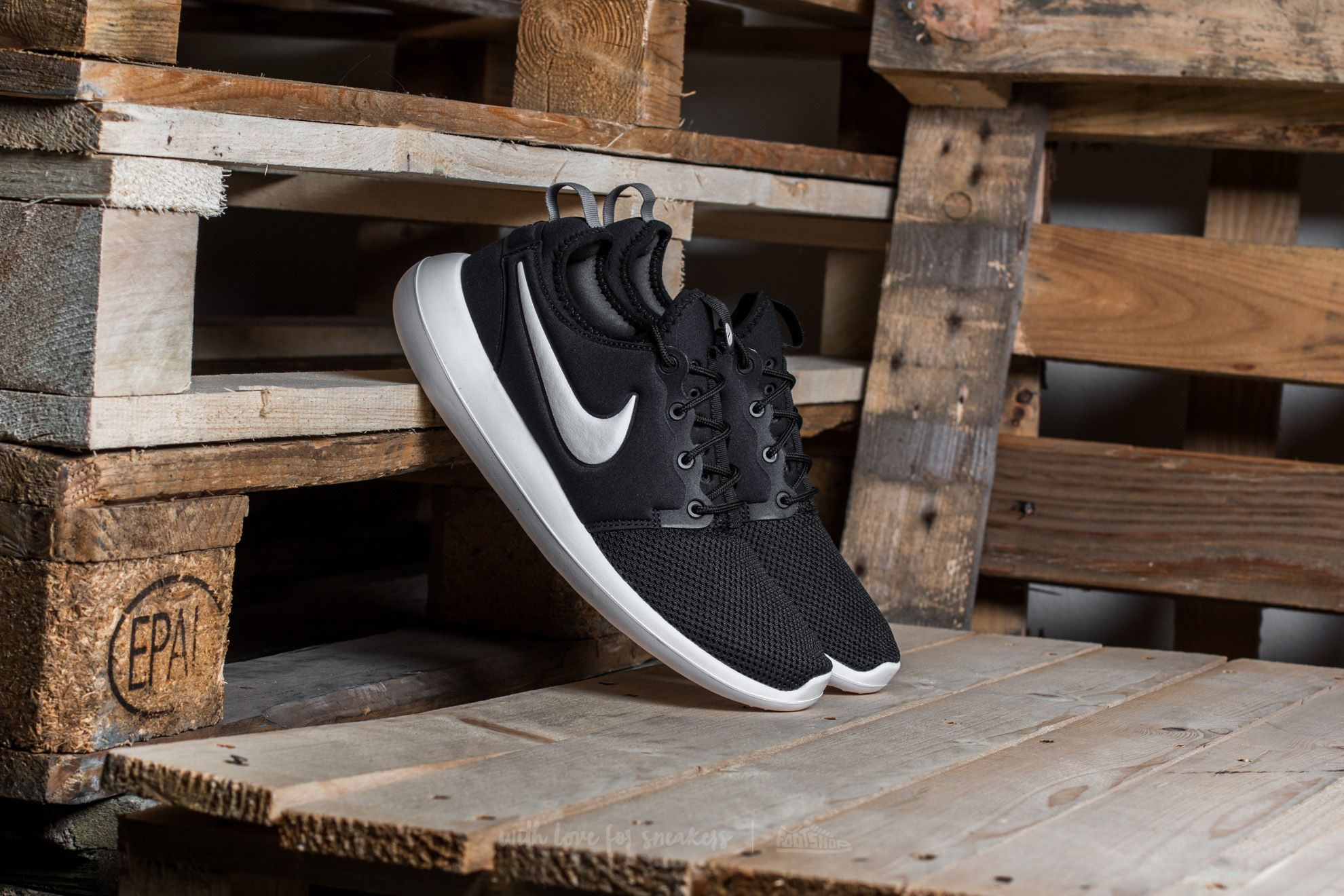 Nike Roshe Two Black/ White-Anthracite-White Footshop – FR