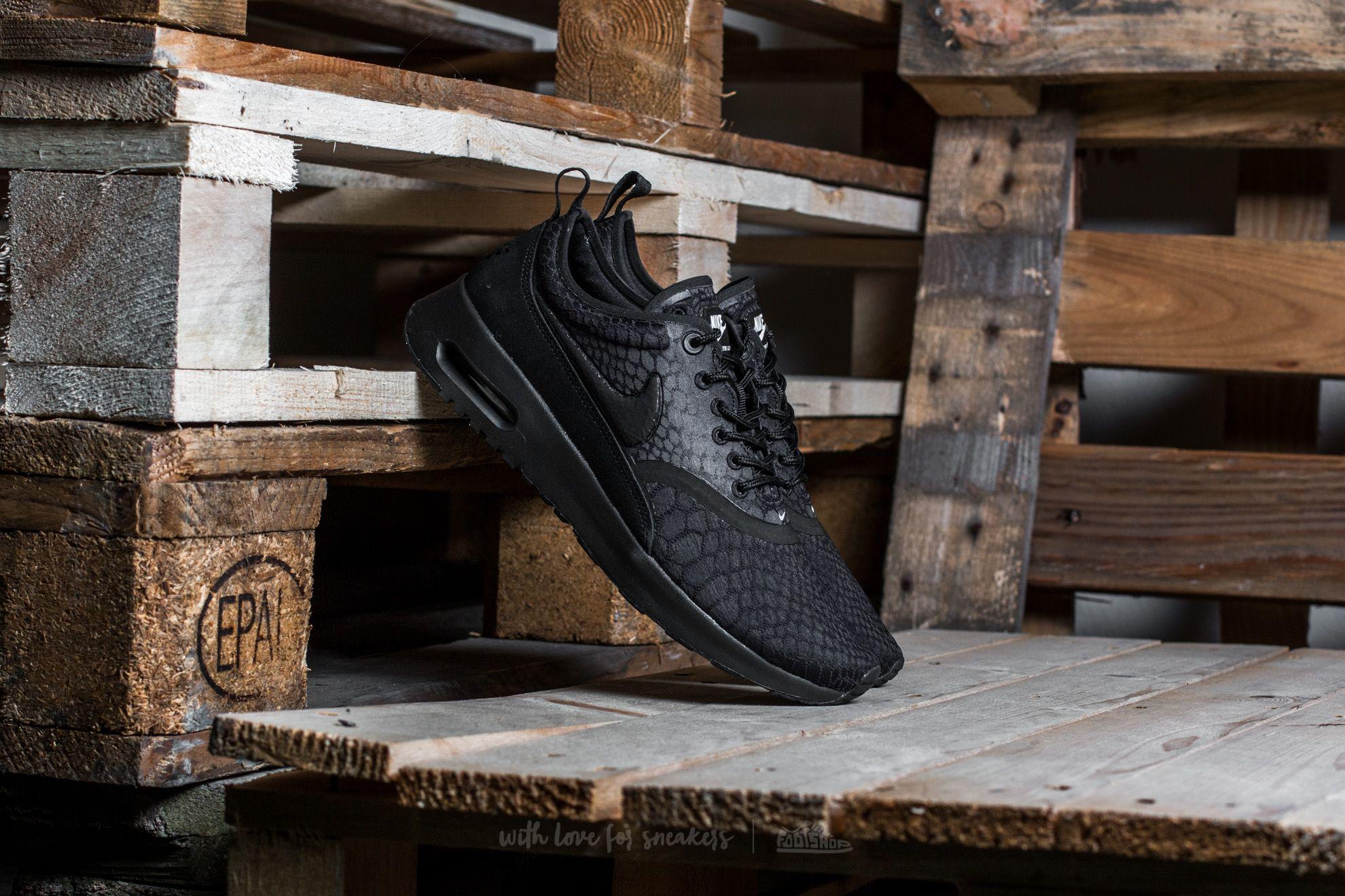 Nike W Air Max Thea Ultra SE Black/ Black-White