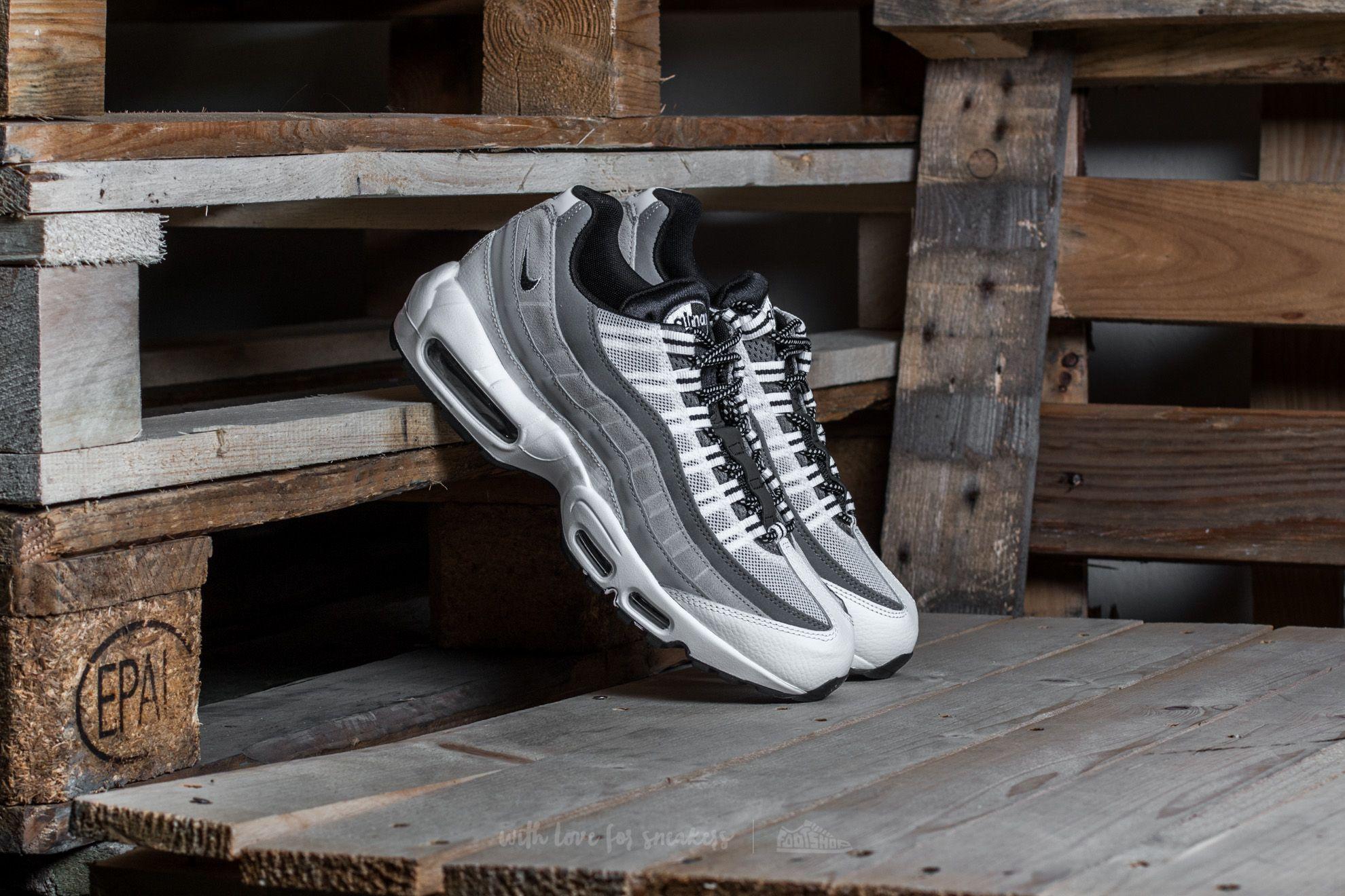 Nike Air Max 95 Essential White/ Black-Wolf Grey