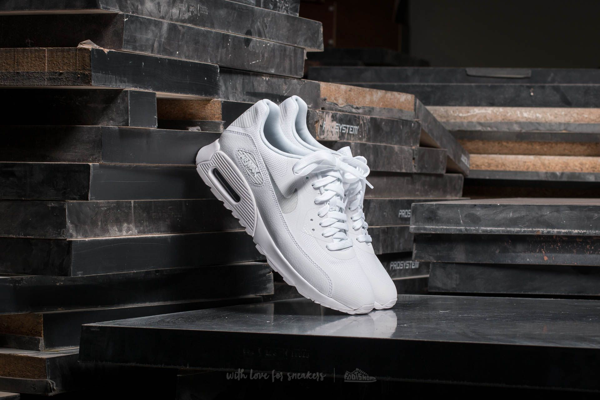 Nike Wmns Air Max 90 Ultra 2.0 White/ Metallic Platinum-White Footshop – FR