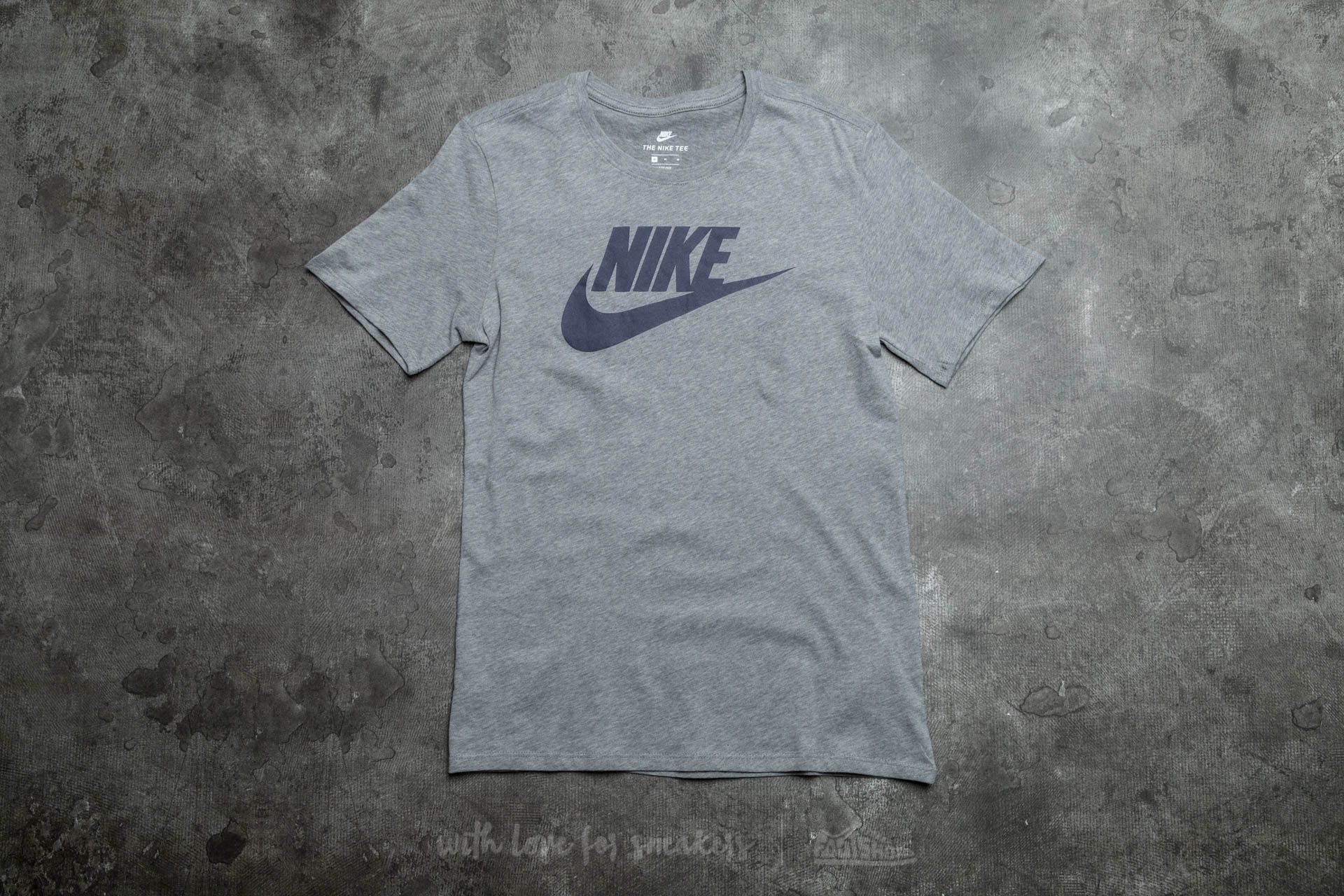 Nike Futura Icon Tee Carbon Heather/ Obsidian Footshop – FR