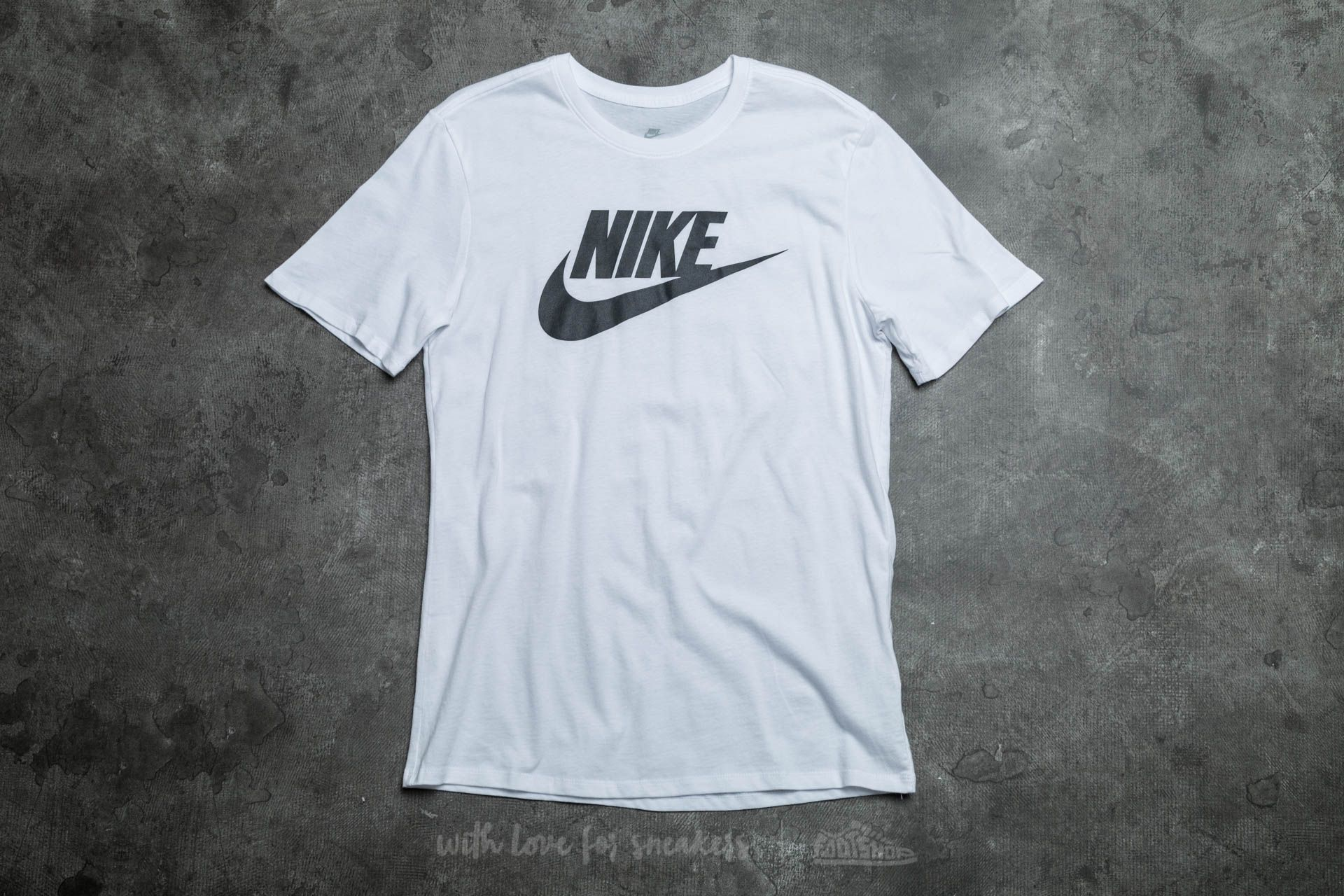 Nike Futura Icon Tee White/ Black Footshop – FR