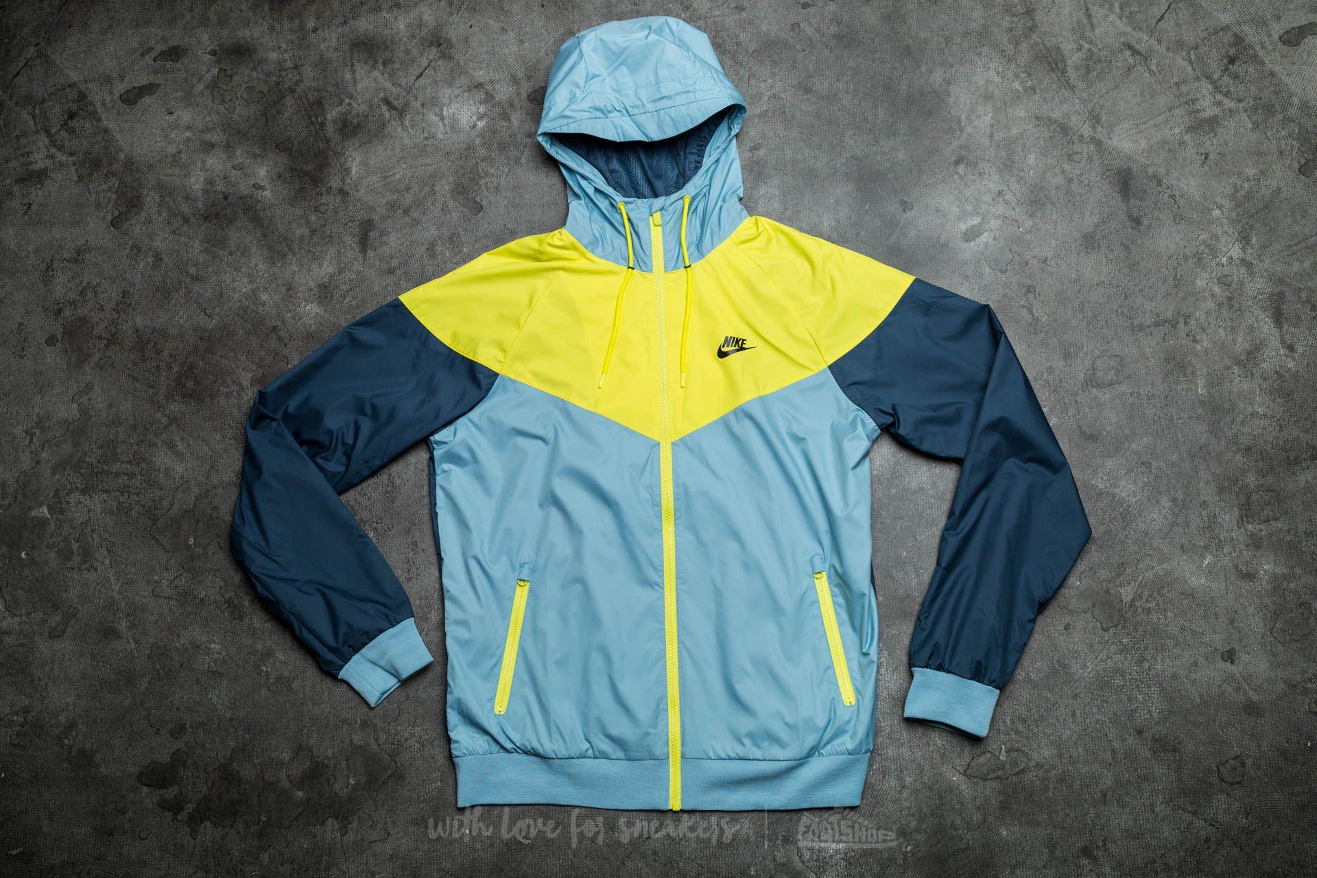 Nike Sportswear Windrunner Mica Blue/ Electrolime/ Squadron Blue/ Black