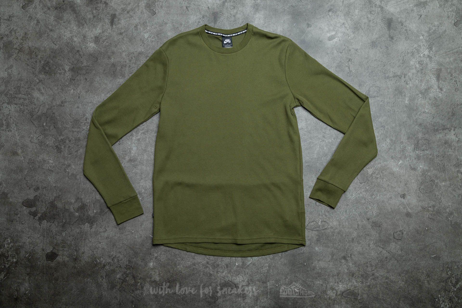 Nike SB Long Sleeve Thermal Tee Legion Green