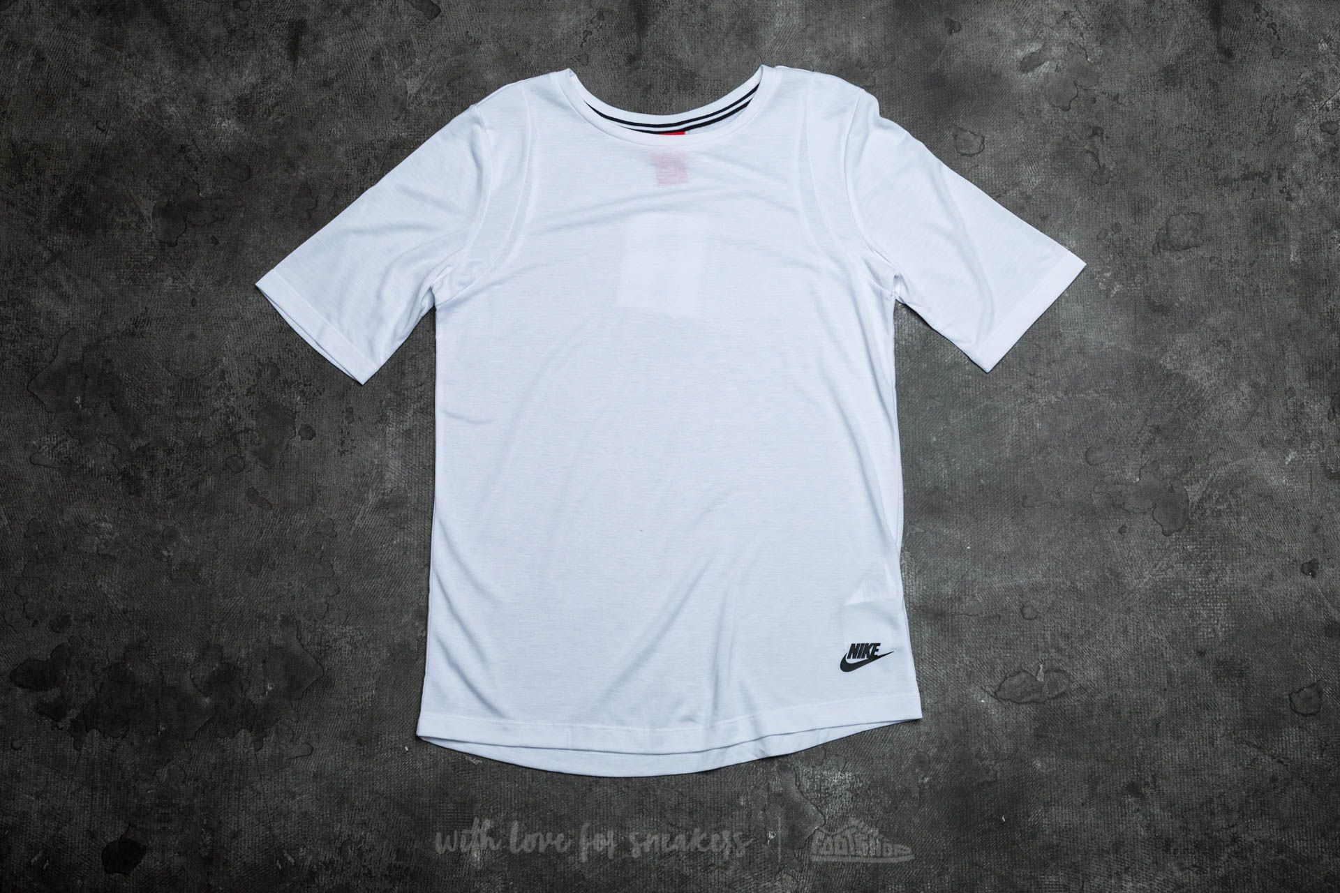Nike W Sportsweat Essential Tee White