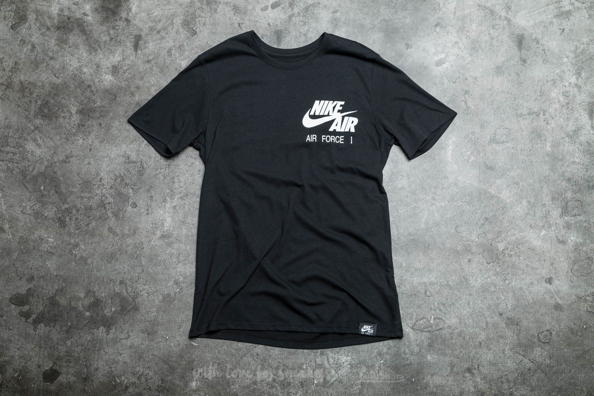 Nike Sportswear Air Force 1 Uptown's Finest Tee Black/ White