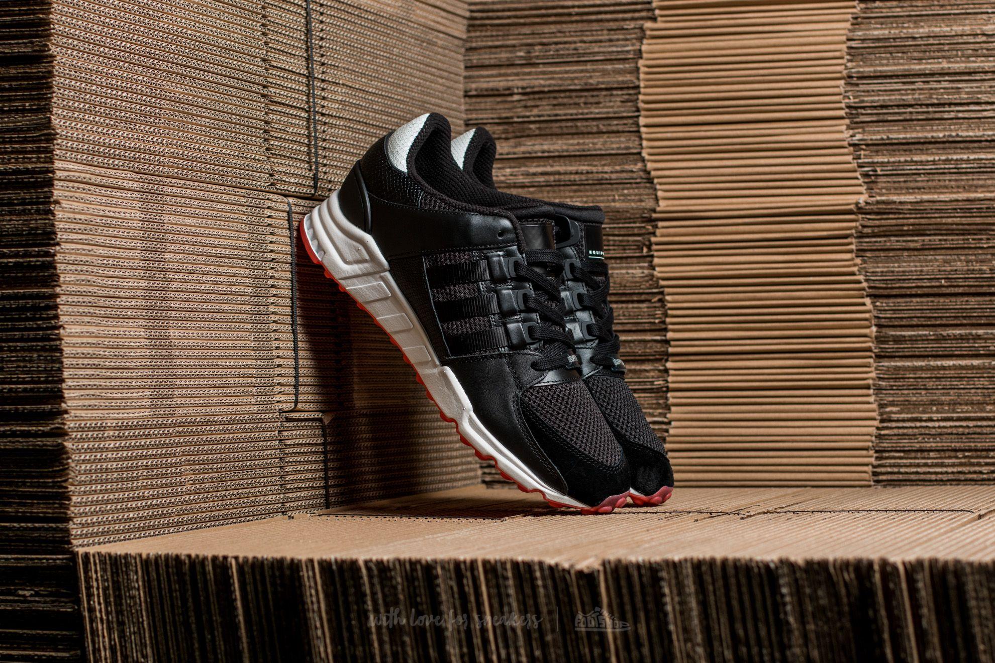 adidas EQT Support RF Core Black/ Core Black/ Turbo