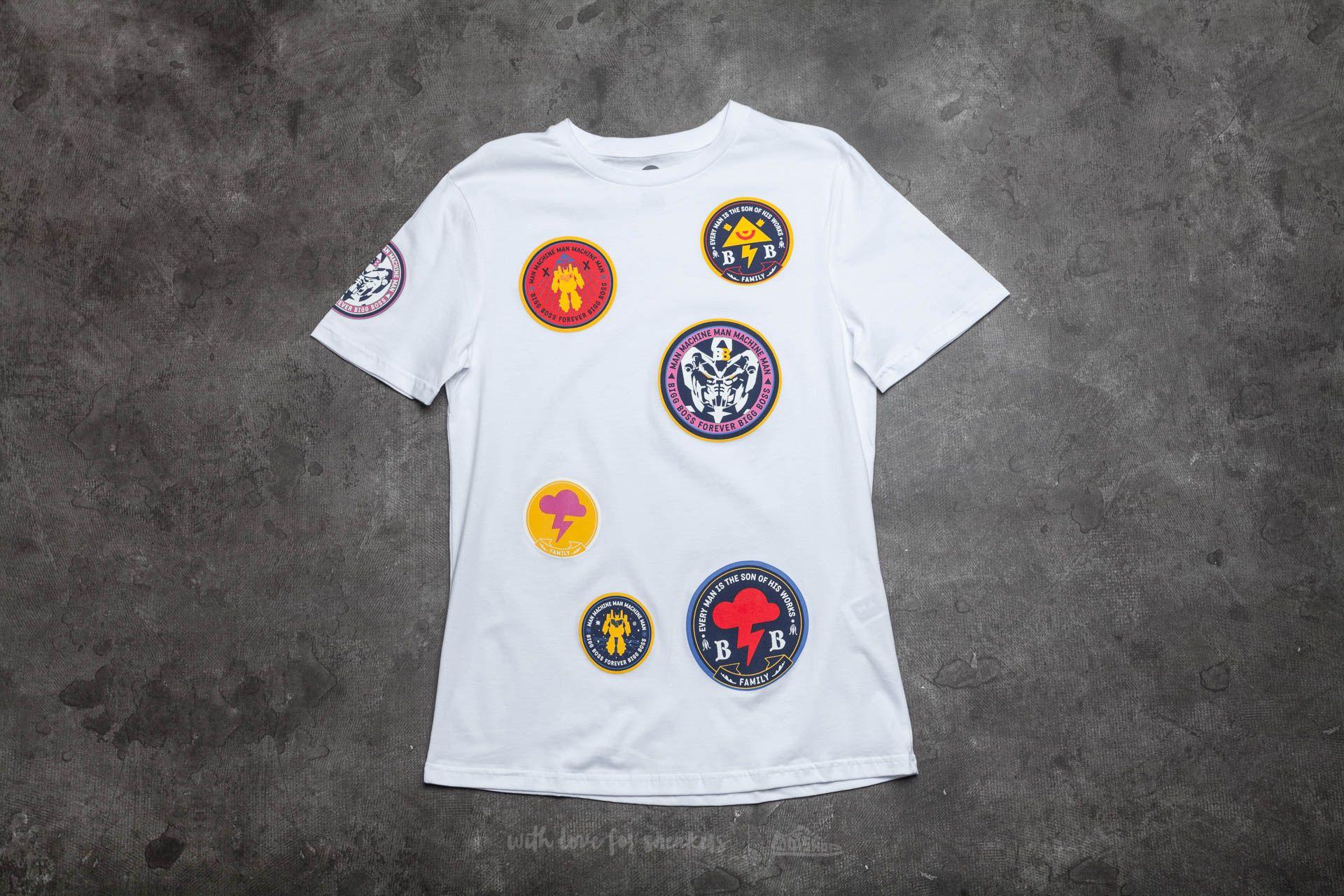 BIGG BOSS Stamps T-Shirt White