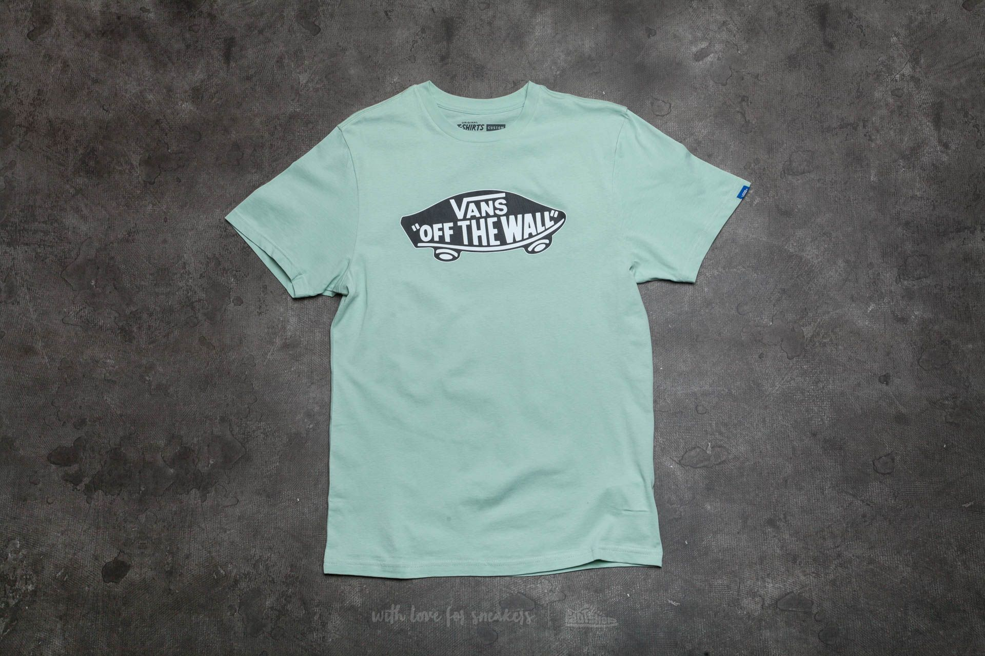 Vans Off The Wall Tee Split Green-Black