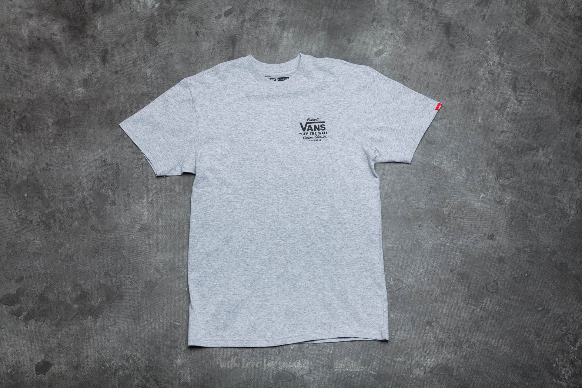 Vans Holder Classic Tee Athletic Heather Footshop – FR