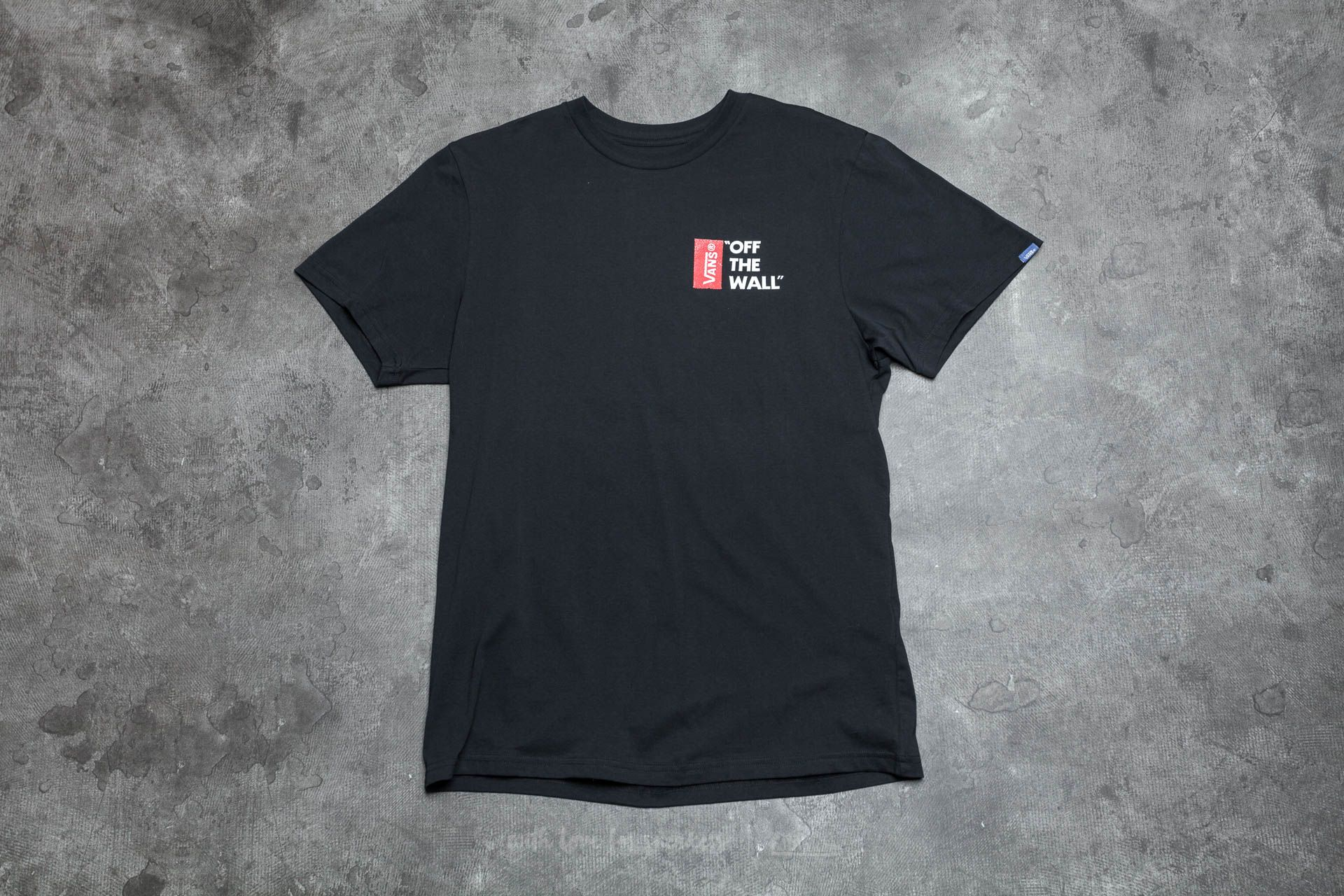 Vans Off The Wall III Tee Black Footshop – FR