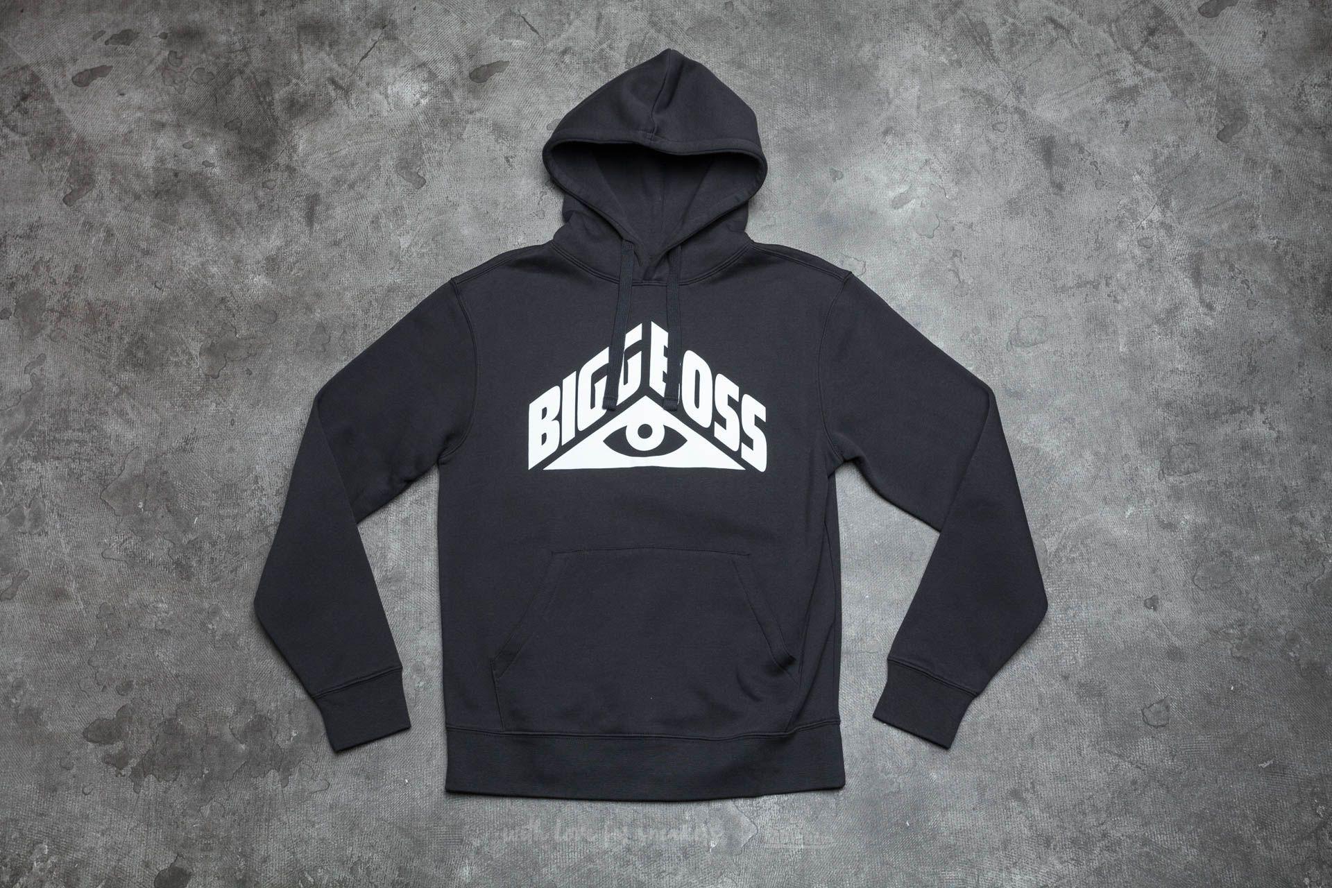 BIGG BOSS Eye Hoodie Black