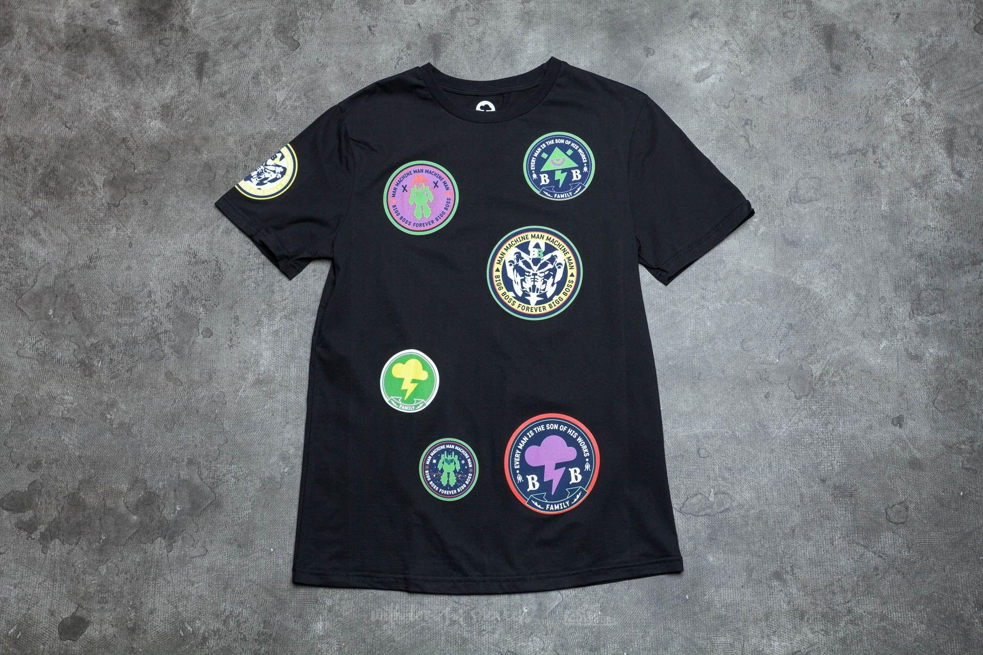 BIGG BOSS Stamps T-Shirt Black