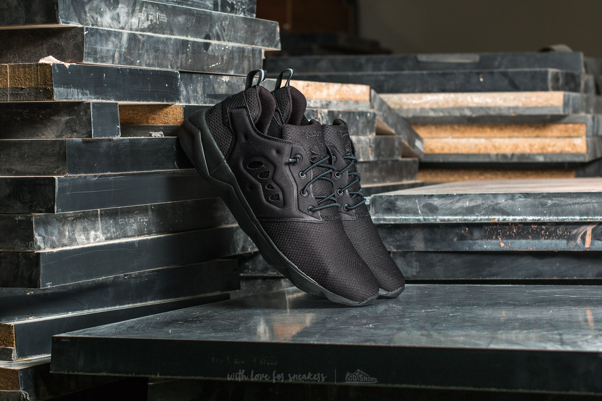 Reebok Furylite II IS Black Footshop – FR