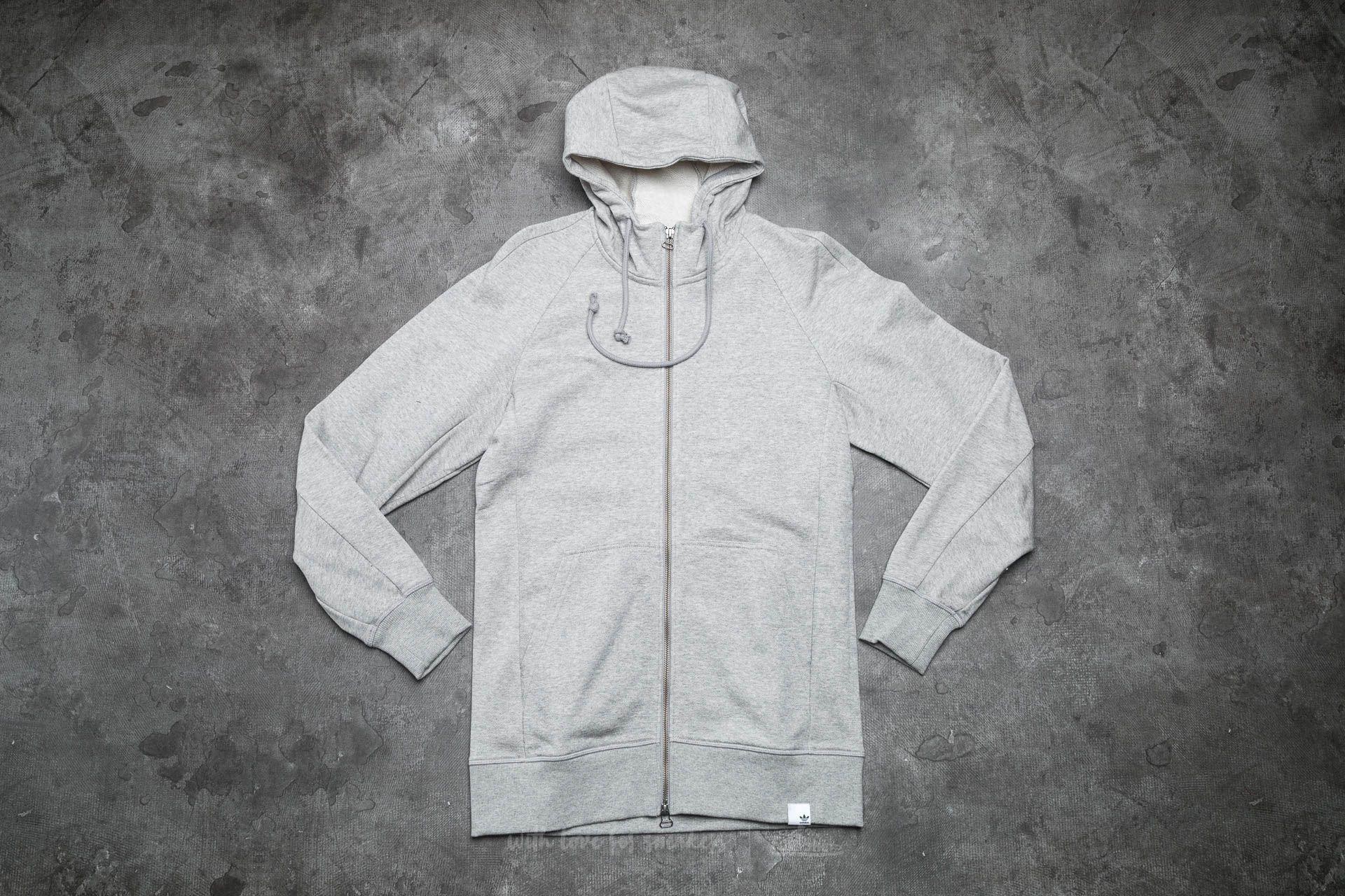 adidas Xbyo Hoodie Medium Grey Heather