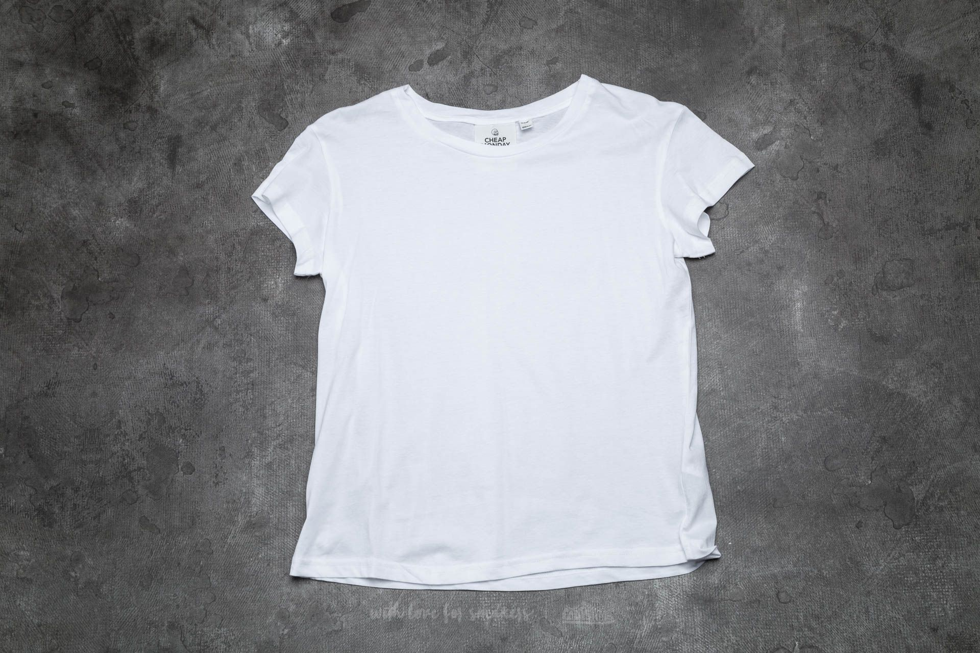 Cheap Monday Have Tee White Footshop – FR