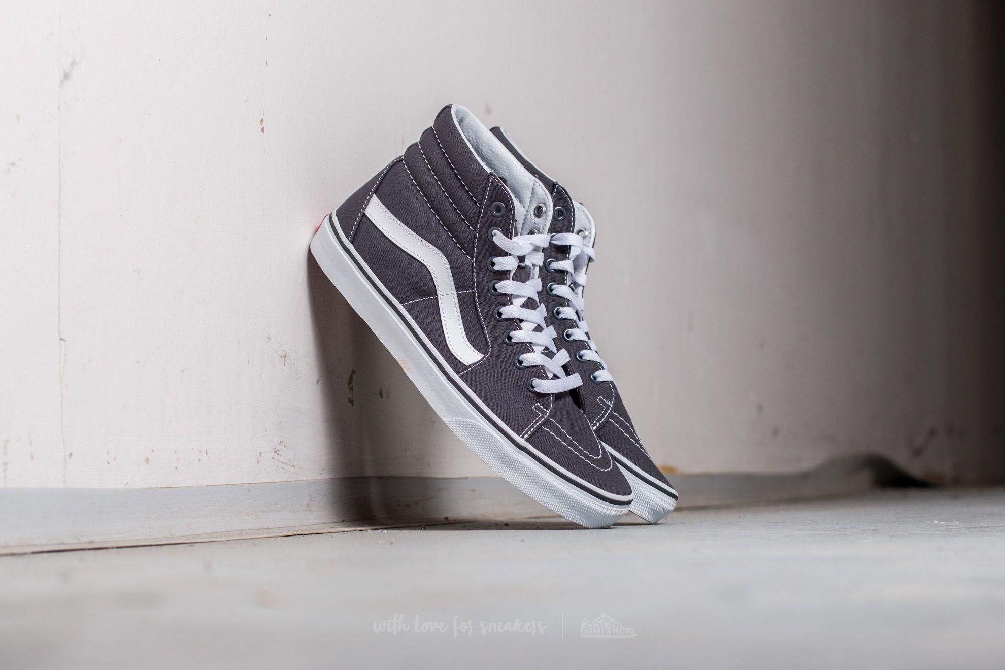 Vans Sk8-Hi (Canvas) Asphalt Footshop – FR