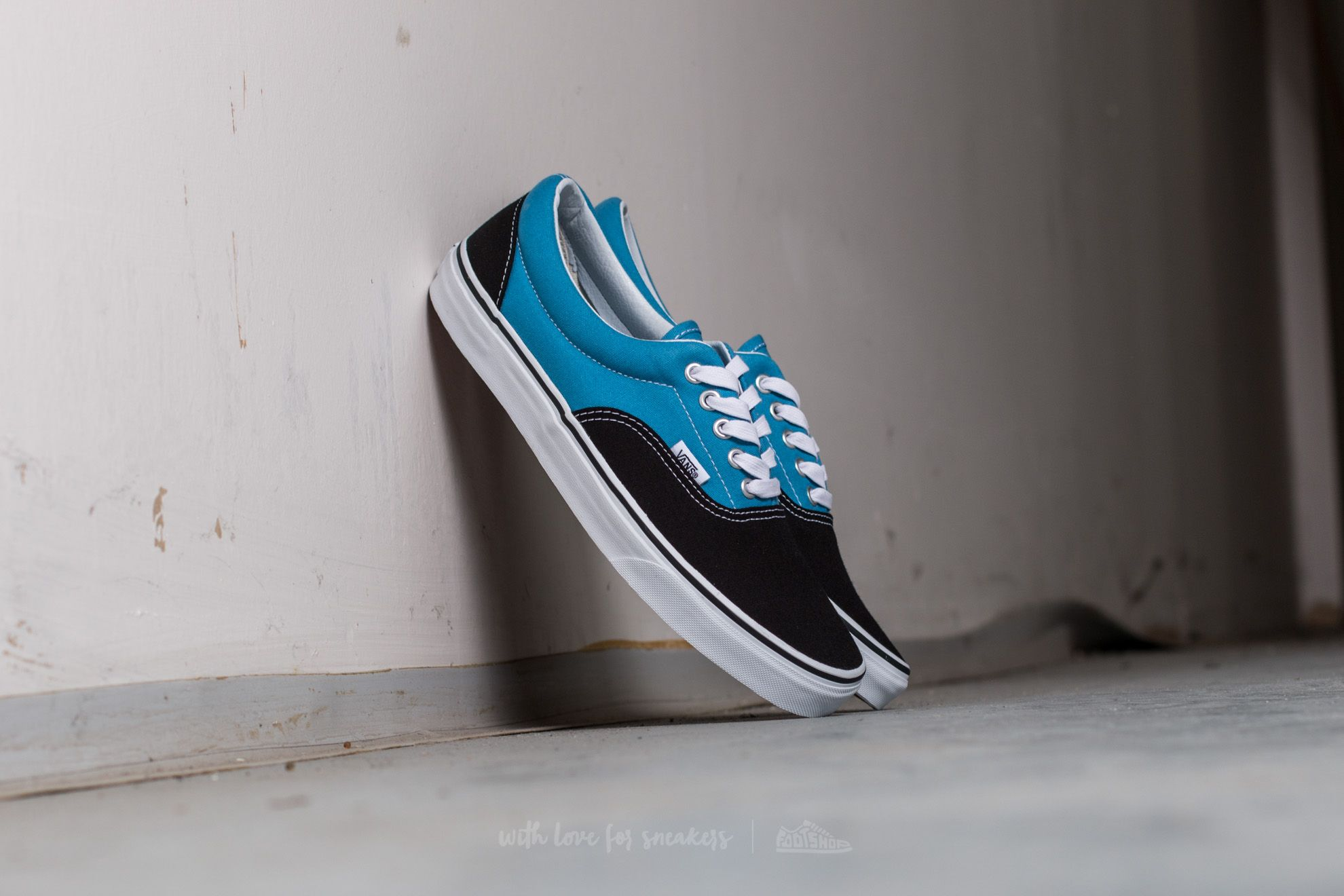 Vans Era (Canvas) Black/ Cendre Blue Footshop – FR