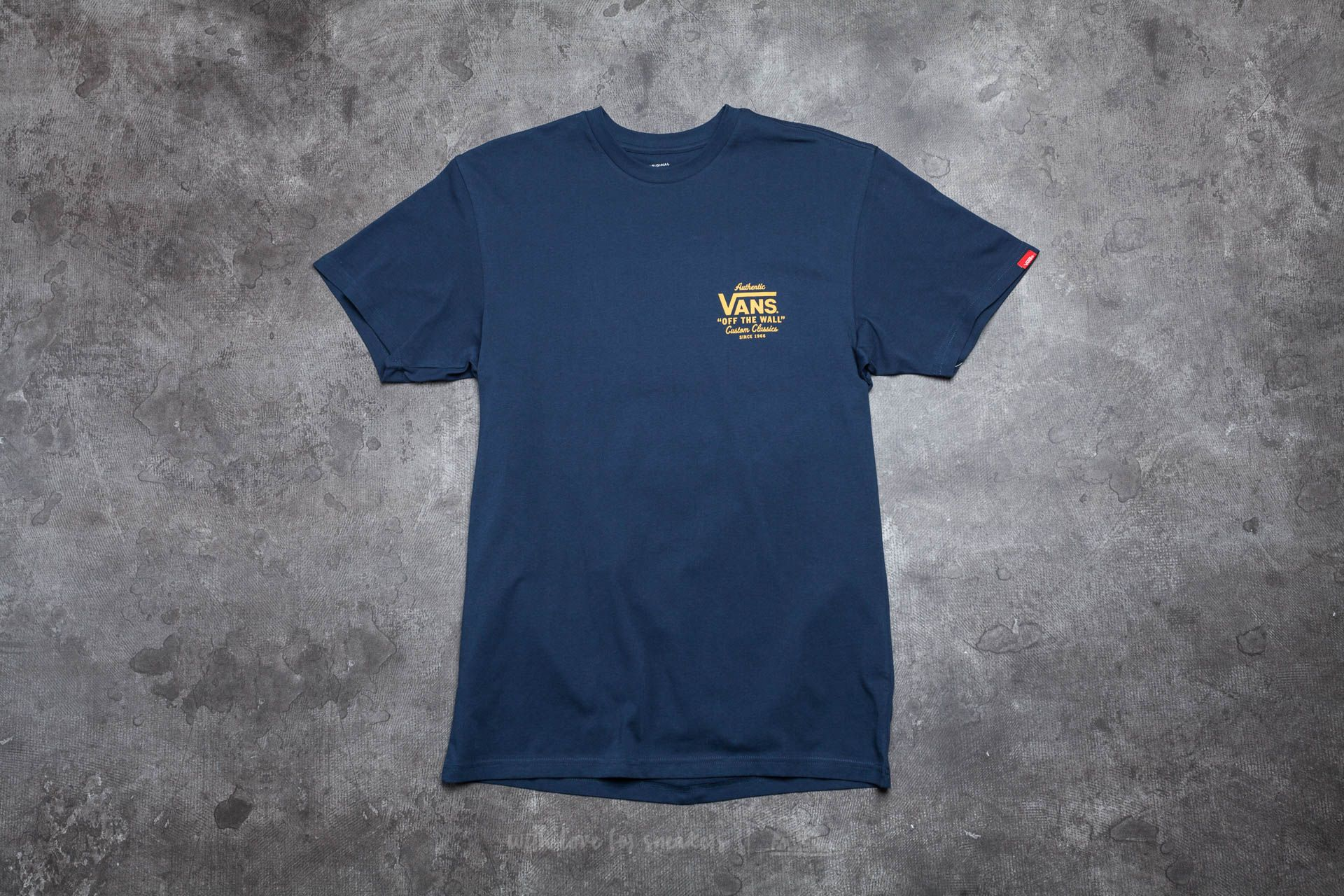 Vans Holder Classic Tee Navy Footshop – FR