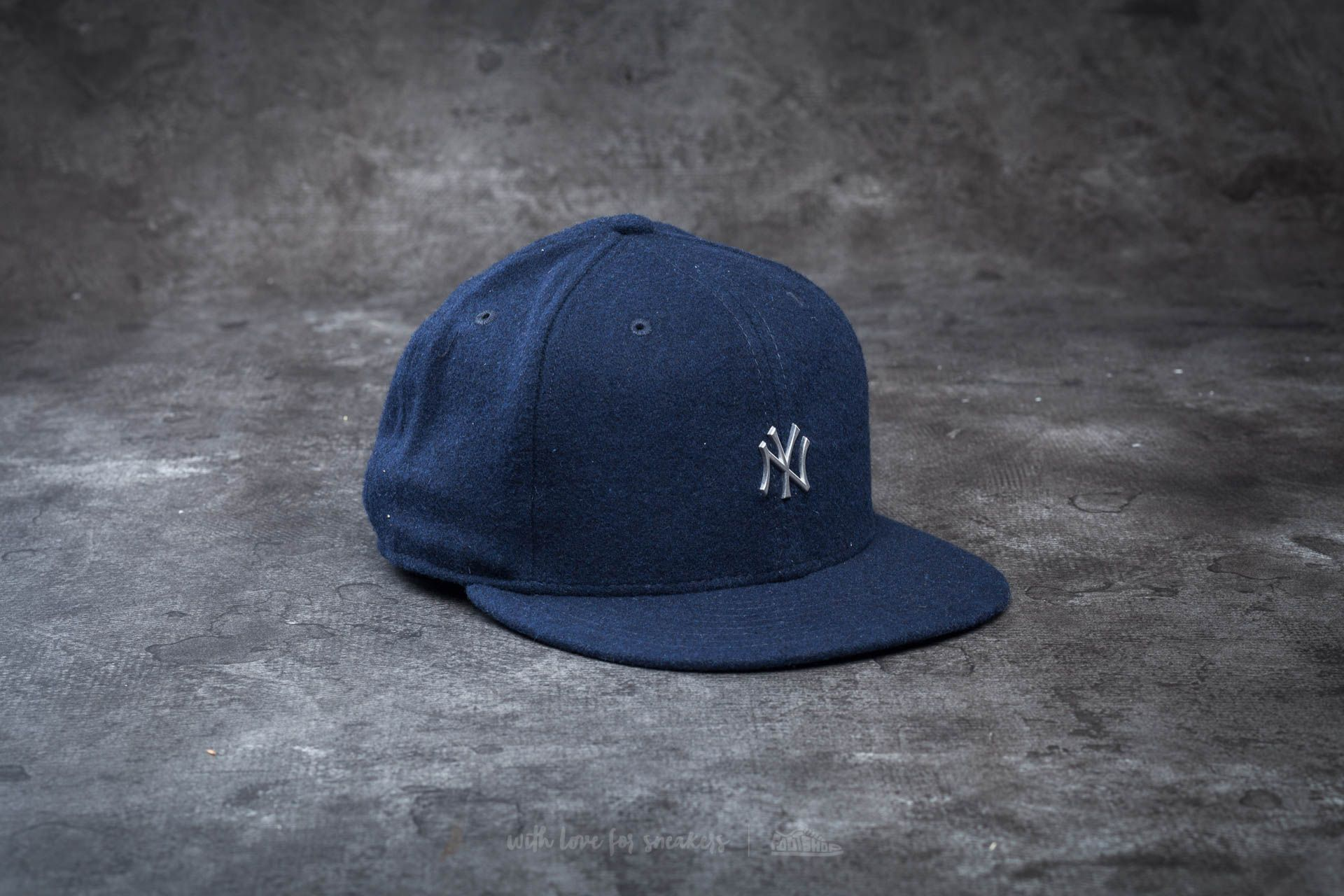 New Era 59Fifty Melton Metal Logo New York Yankees Navy Footshop – FR