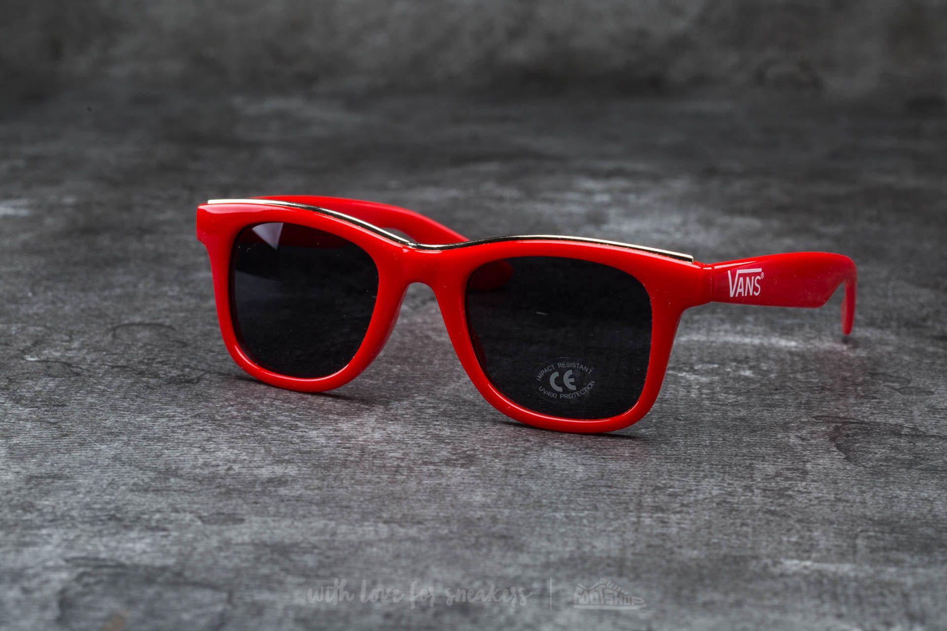 Vans Breakwater Sunglasses Tomato-Gold Rim Footshop – FR