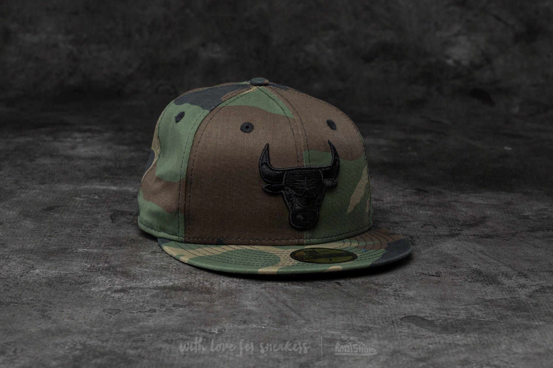 New Era 59Fifty NBA Camo Chibul Camo