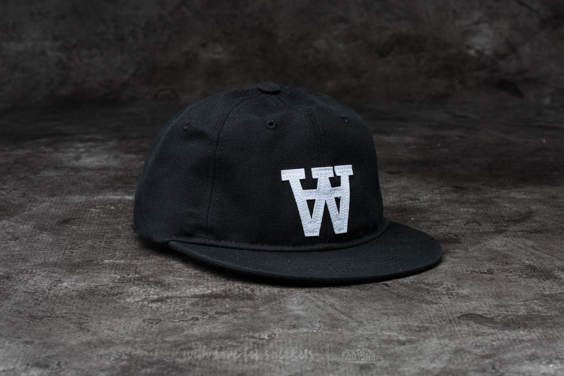 WOOD WOOD Baseball Cap Black