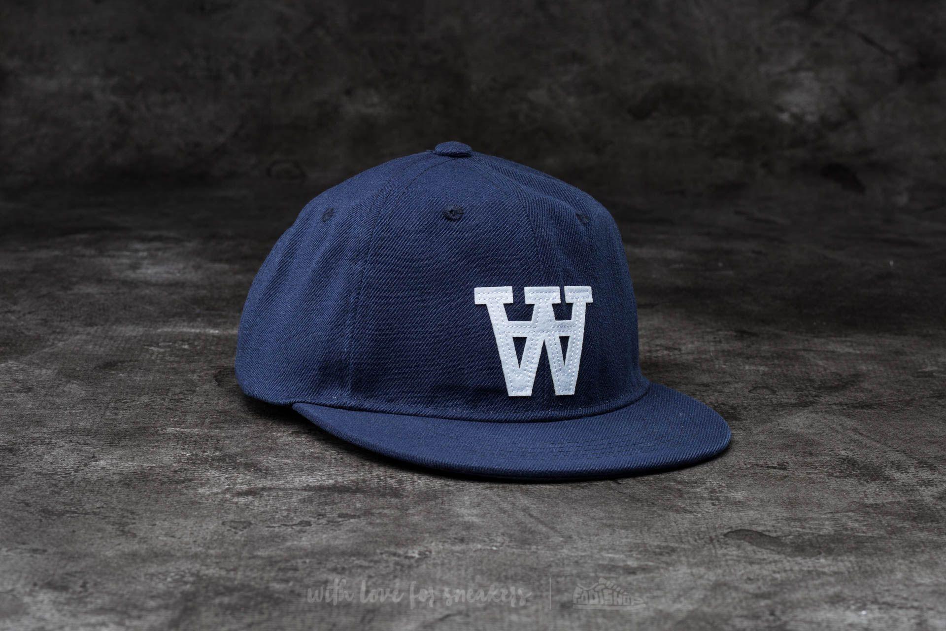 WOOD Baseball Cap Estate Blue