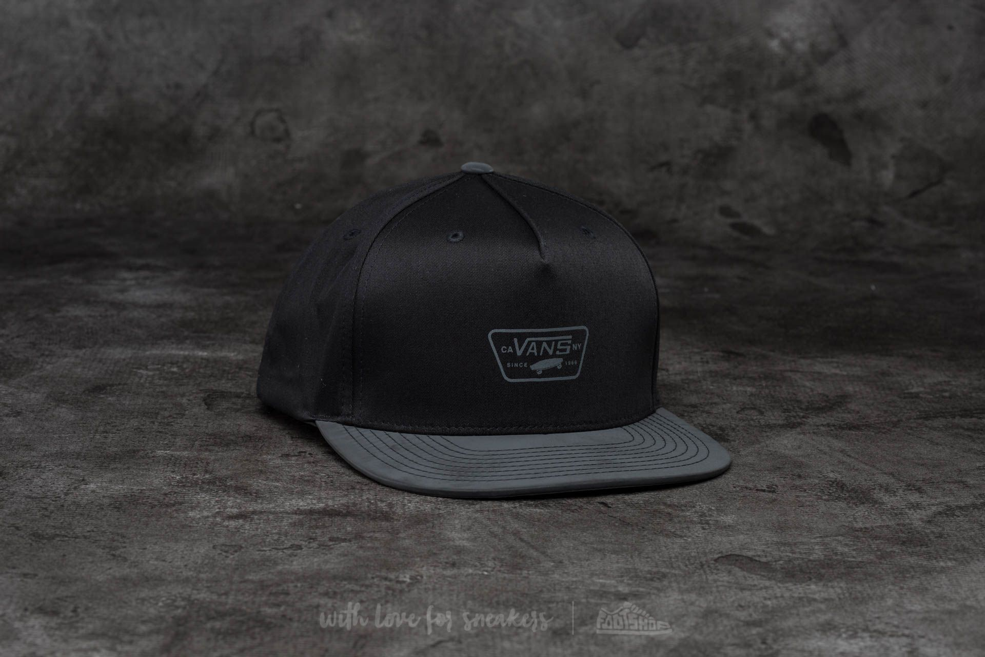 Vans Reflect Snapback Black Footshop – FR