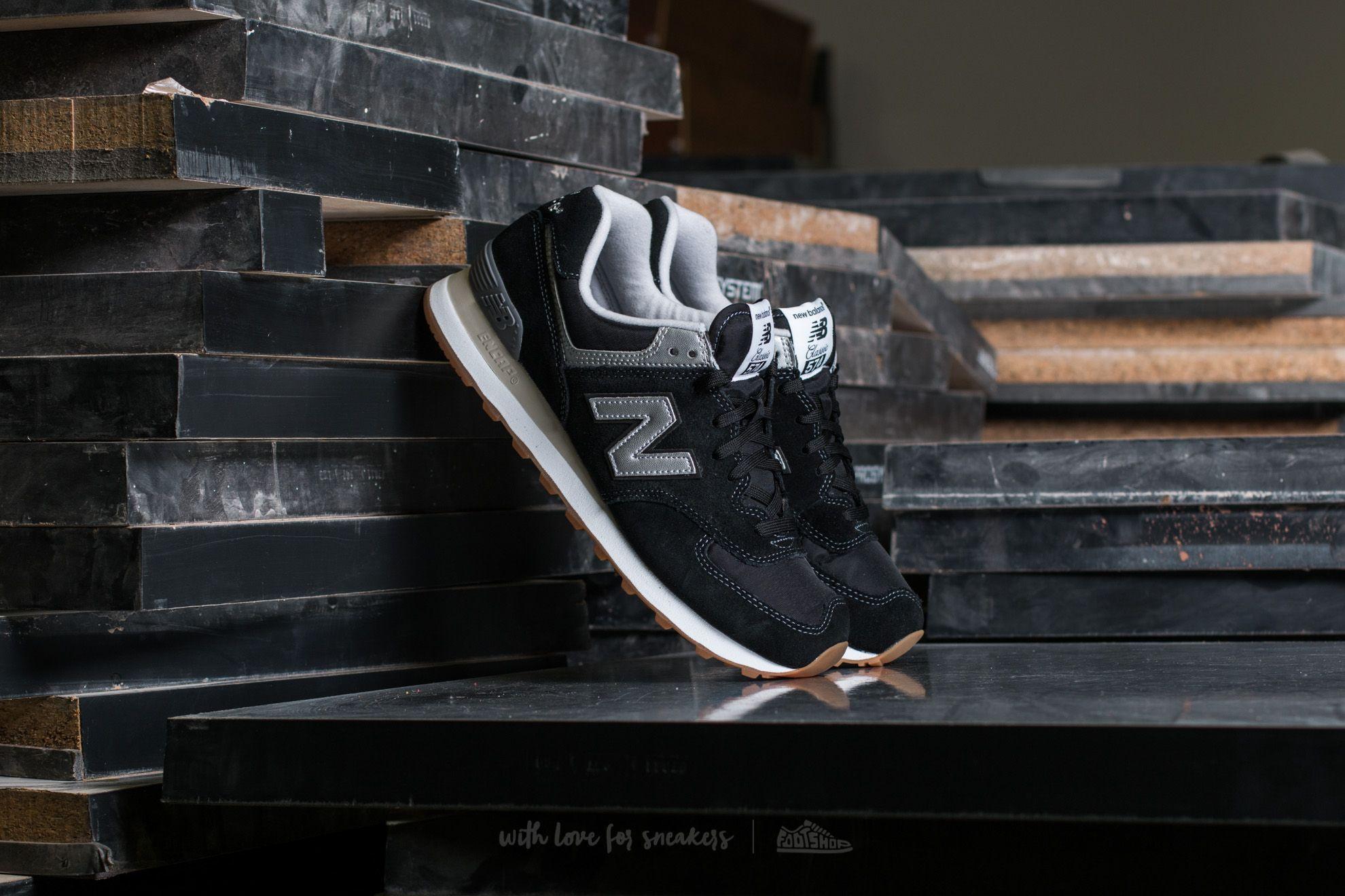 New Balance 574 Black Footshop – FR