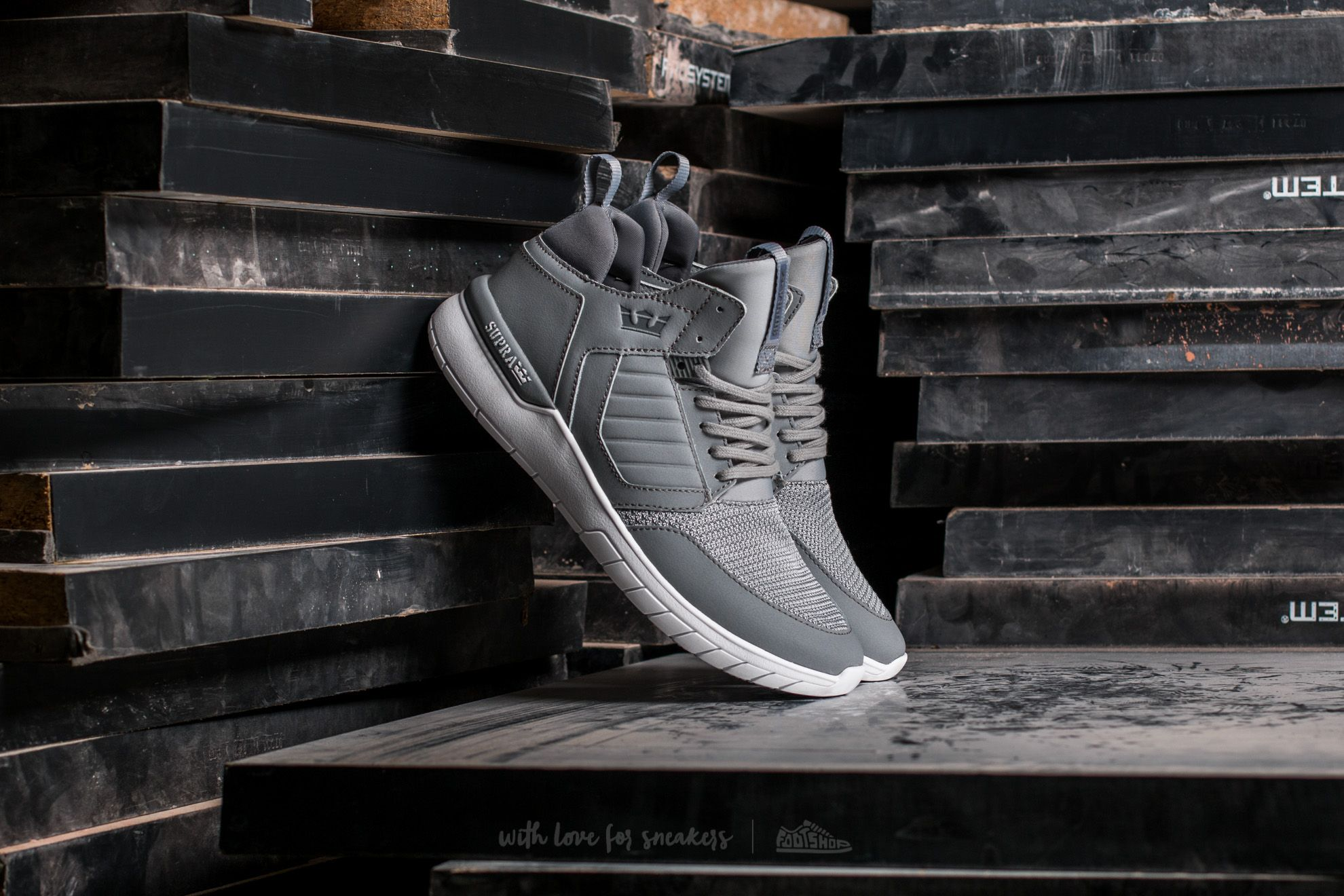 Supra Method Light Grey-White