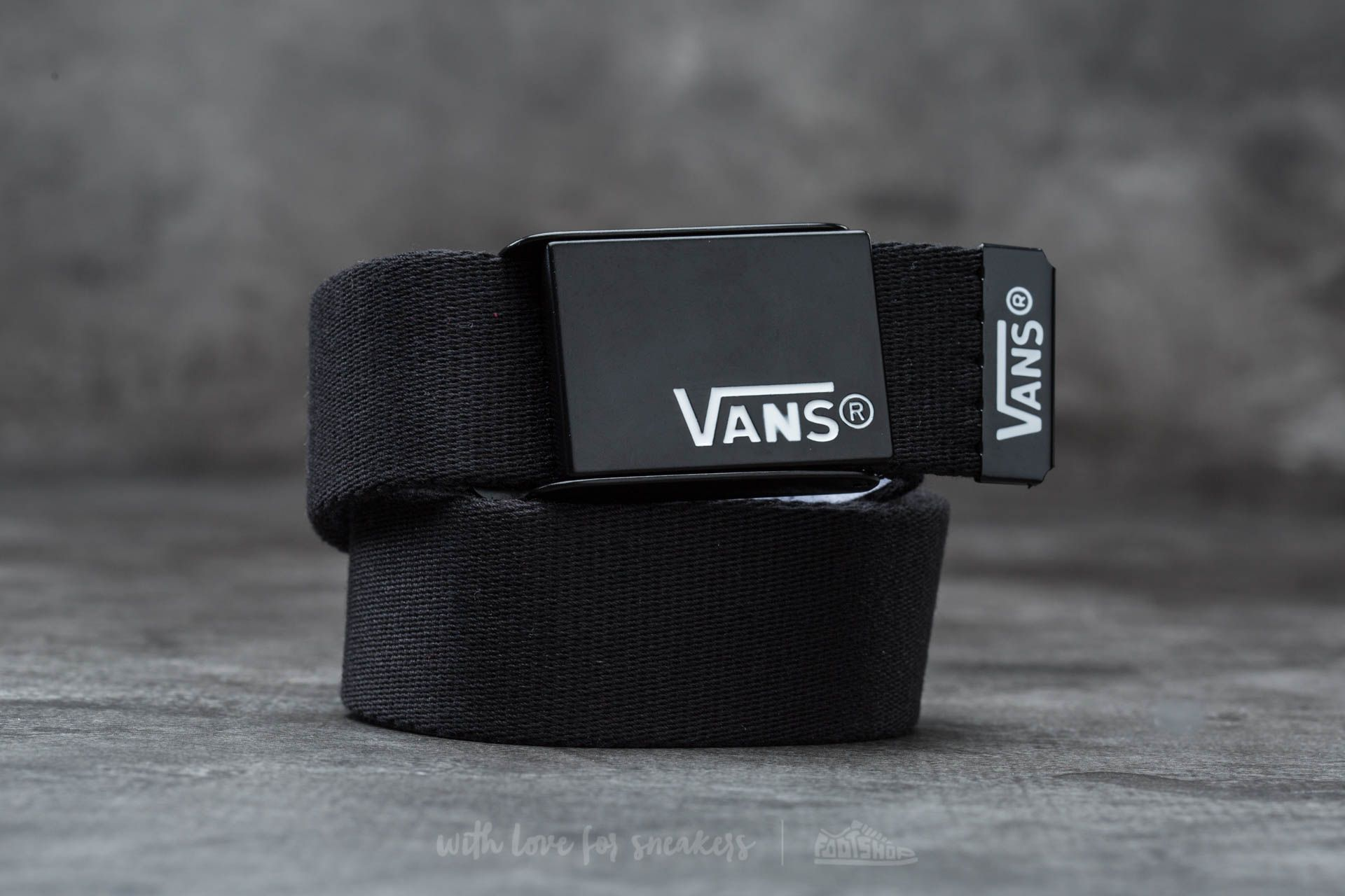 Vans Deppster Web Belt Black Footshop – FR