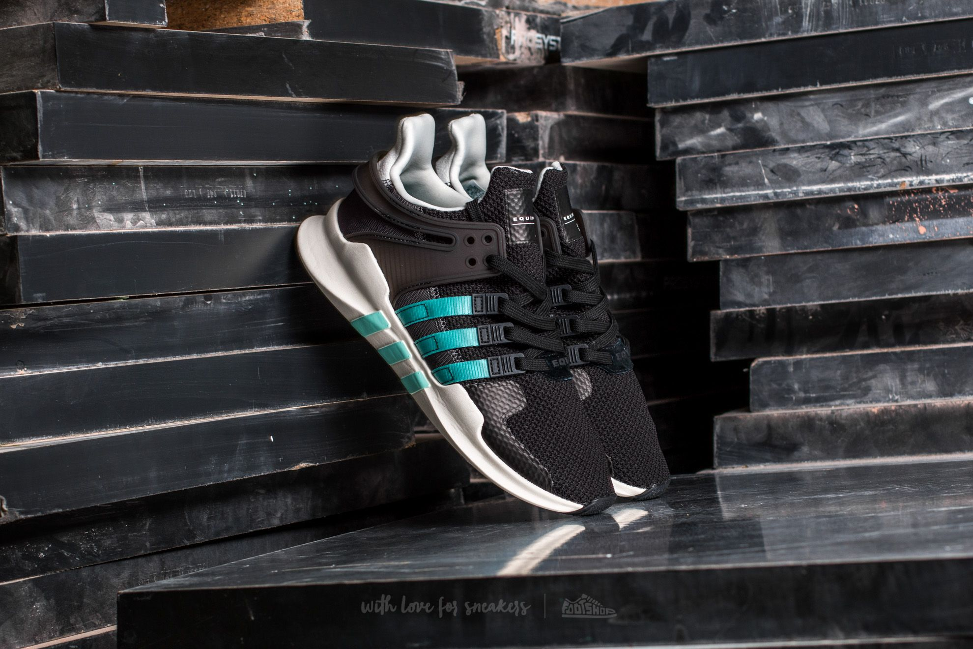 adidas Equipment Support ADV W Core Black/ Clear Aqua/ Granite Footshop – FR