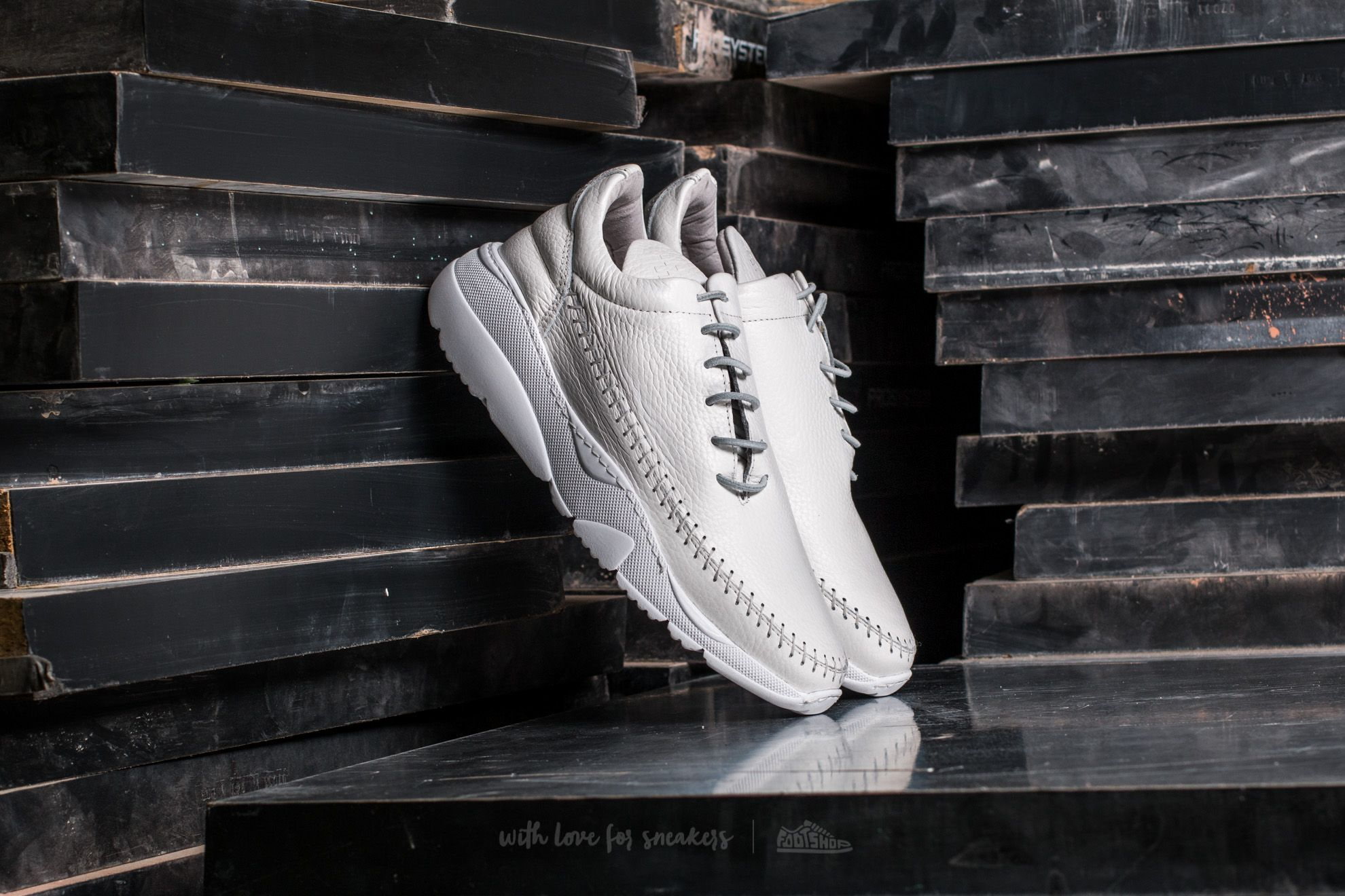 Filling Pieces Apache Runner Low All White Footshop – FR